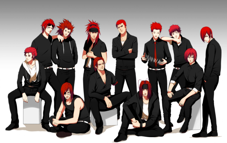 Anime 3000x1894 Hisoka (Hunter × Hunter) Shanks redhead Kingdom Hearts Hunter x Hunter Final Fantasy Naruto Shippuuden