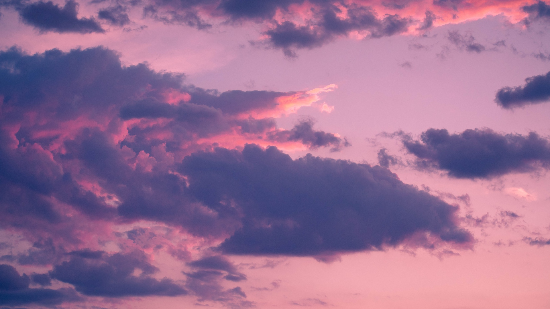 General 1920x1080 nature clouds sky sunset pink pink clouds Ernest Brillo