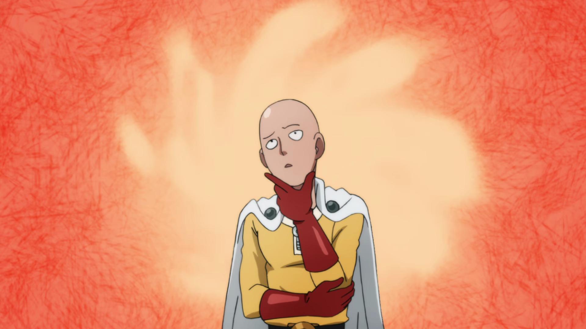 Anime 1920x1080 One-Punch Man Saitama bald