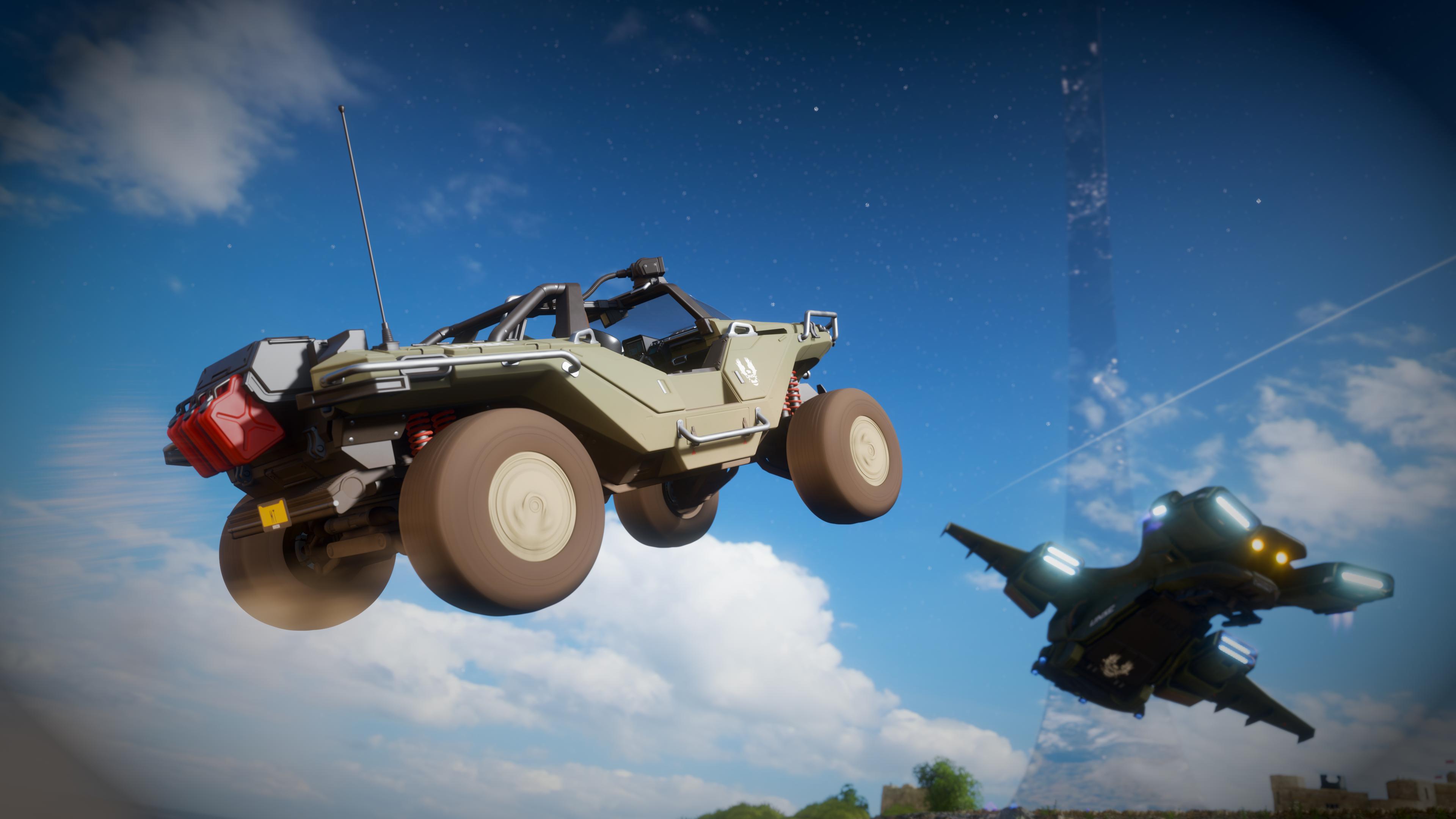 General 3840x2160 Forza Horizon 4 spring Halo screen shot video games car