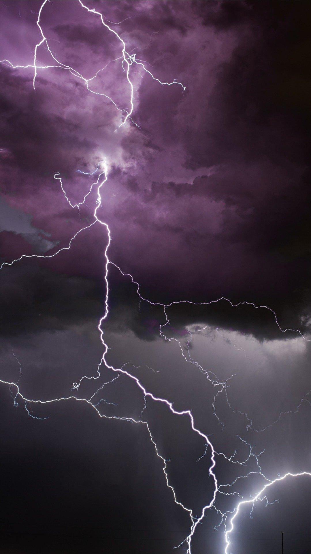 General 1079x1920 lightning storm nature vertical