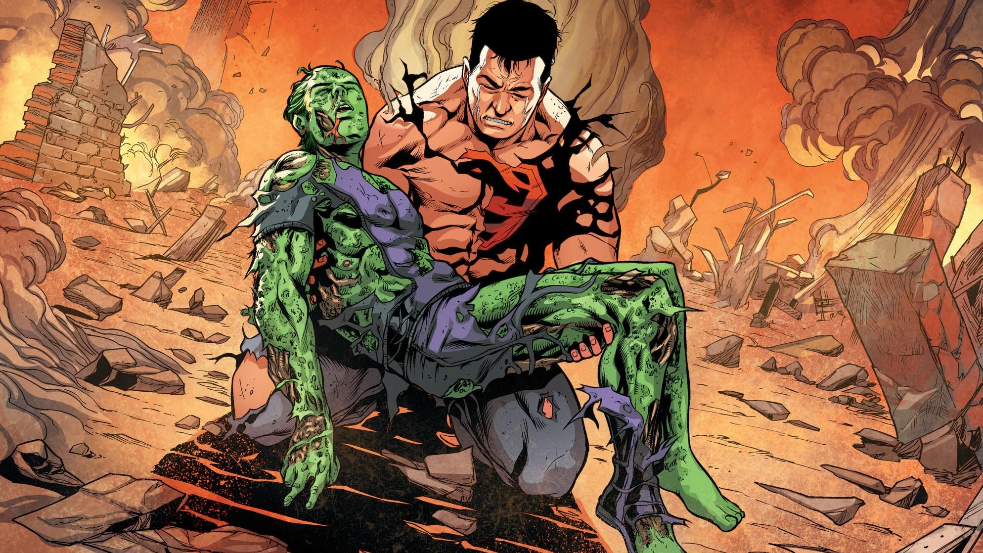 Anime 1988x1118 Injustice 2 DC Comics DC Universe Beast Boy