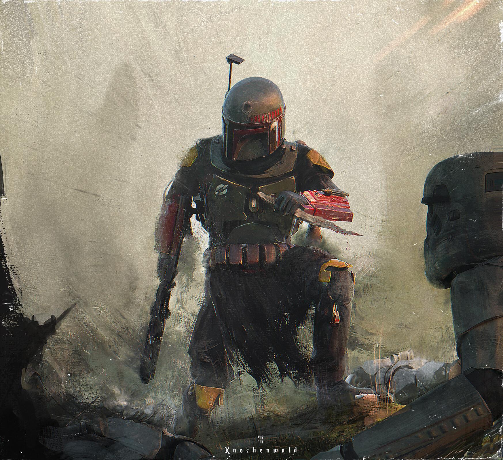 General 1747x1600 Star Wars Boba Fett Star Wars Villains artwork bounty hunter science fiction The Mandalorian