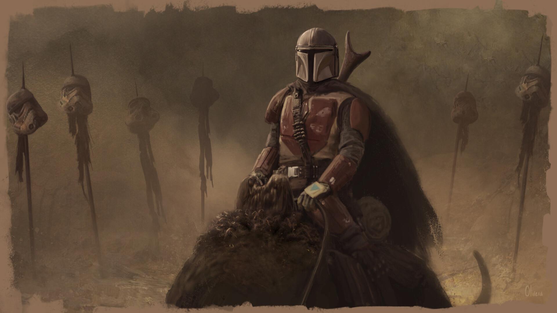 General 1920x1080 The Mandalorian Star Wars TV Series bounty hunter