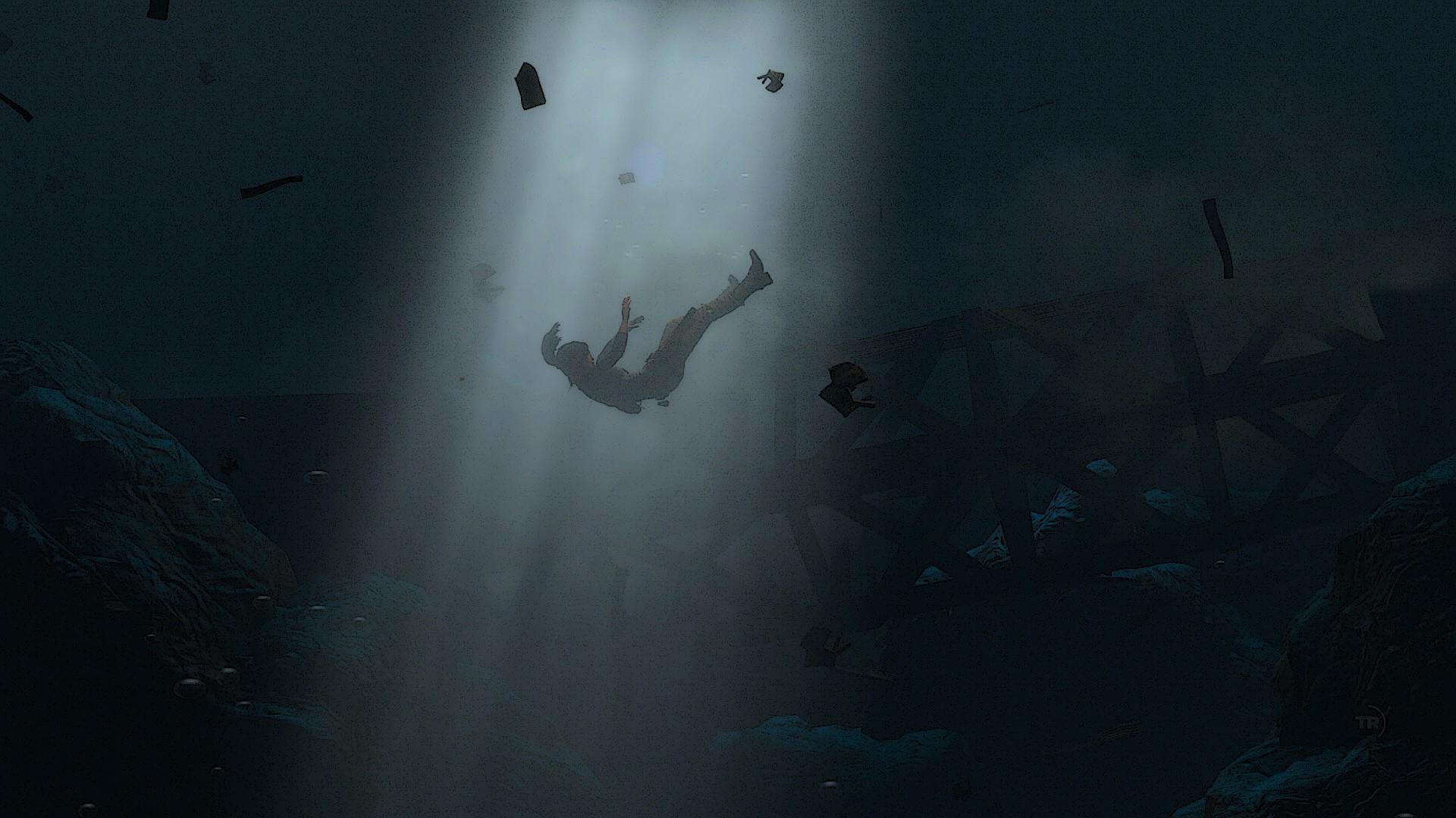 People 1920x1080 Rise of the Tomb Raider Lara Croft Square Enix underwater