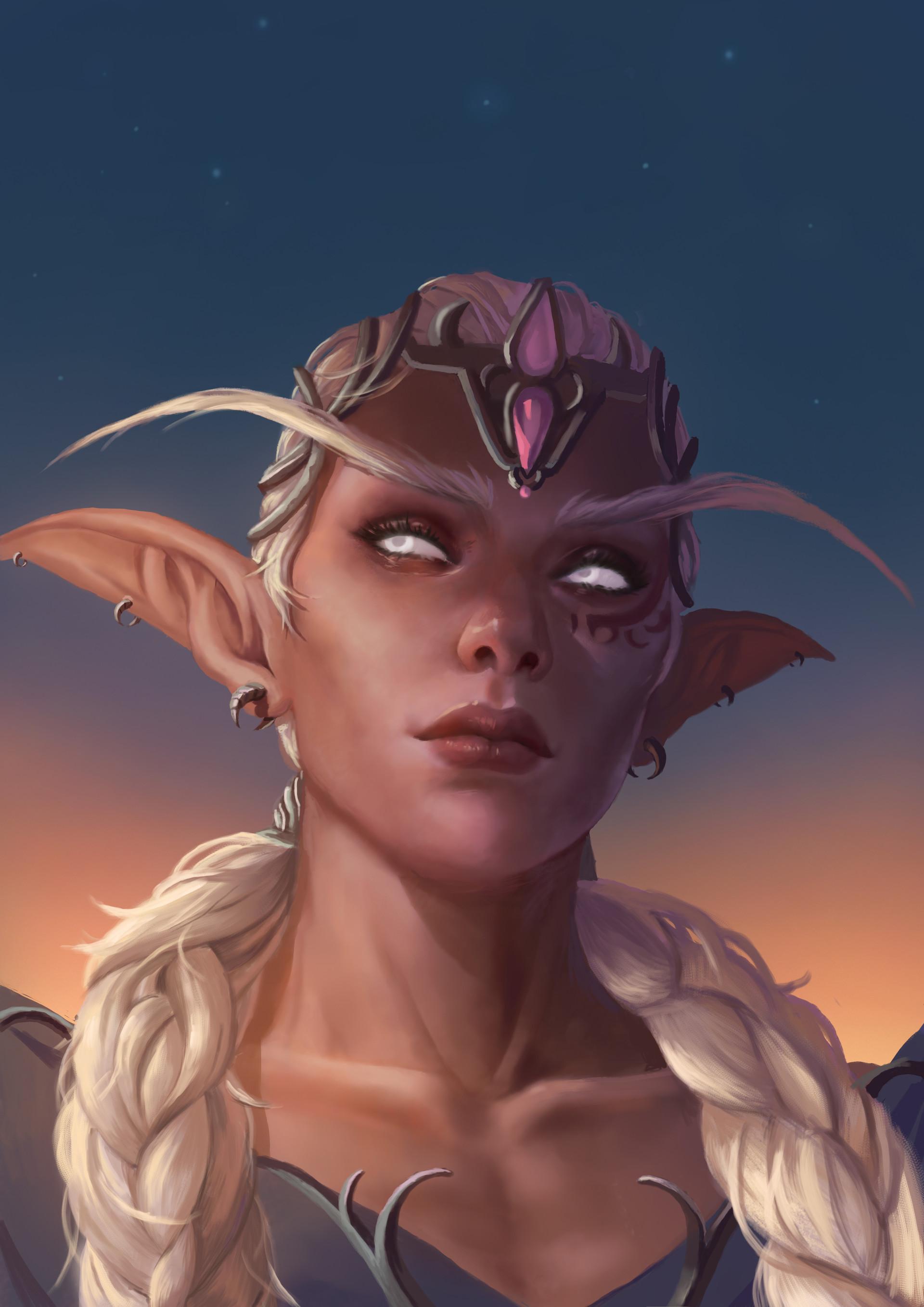 General 1920x2715 elven women World of Warcraft