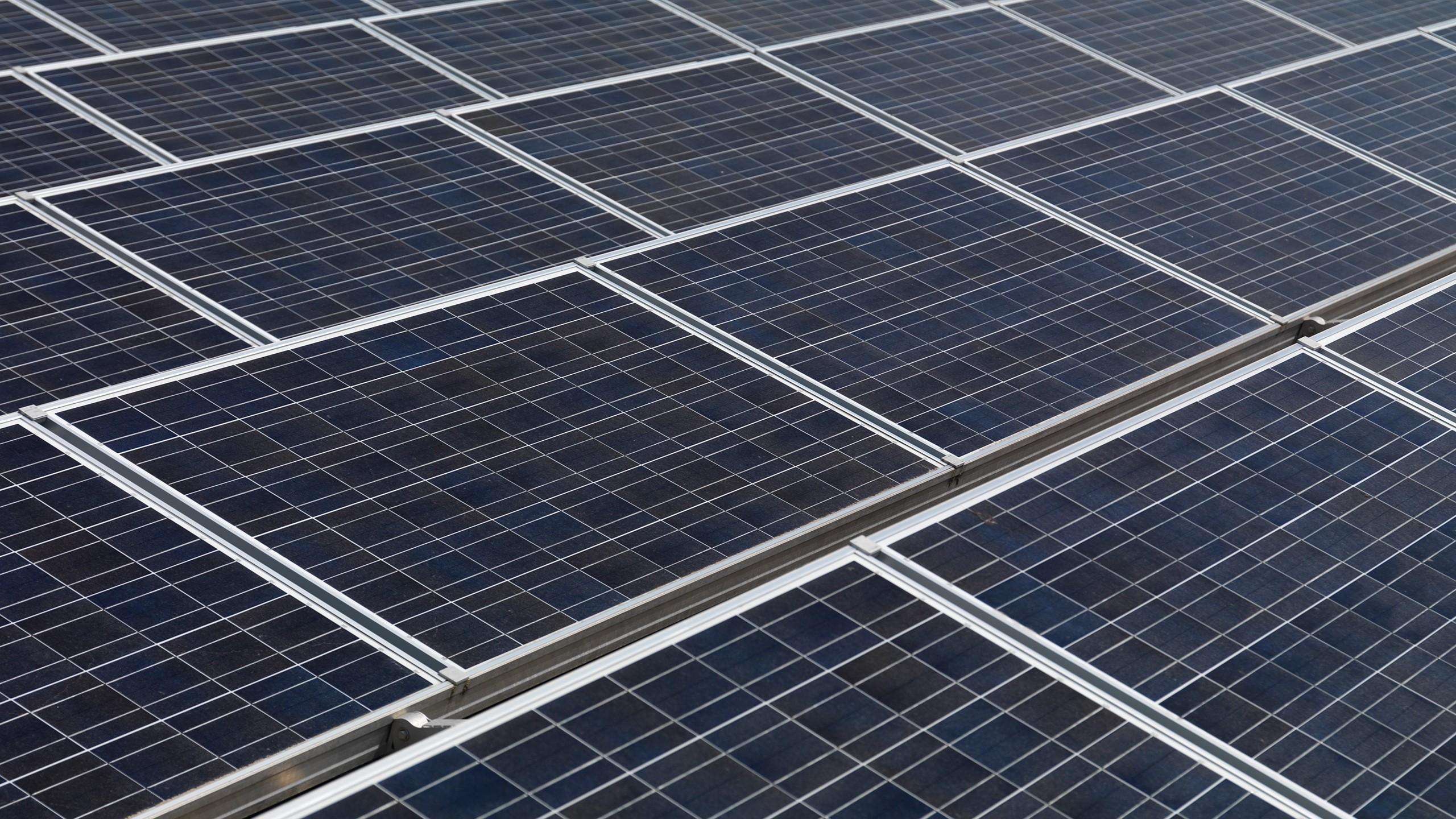 General 2560x1440 solar power power plant technology
