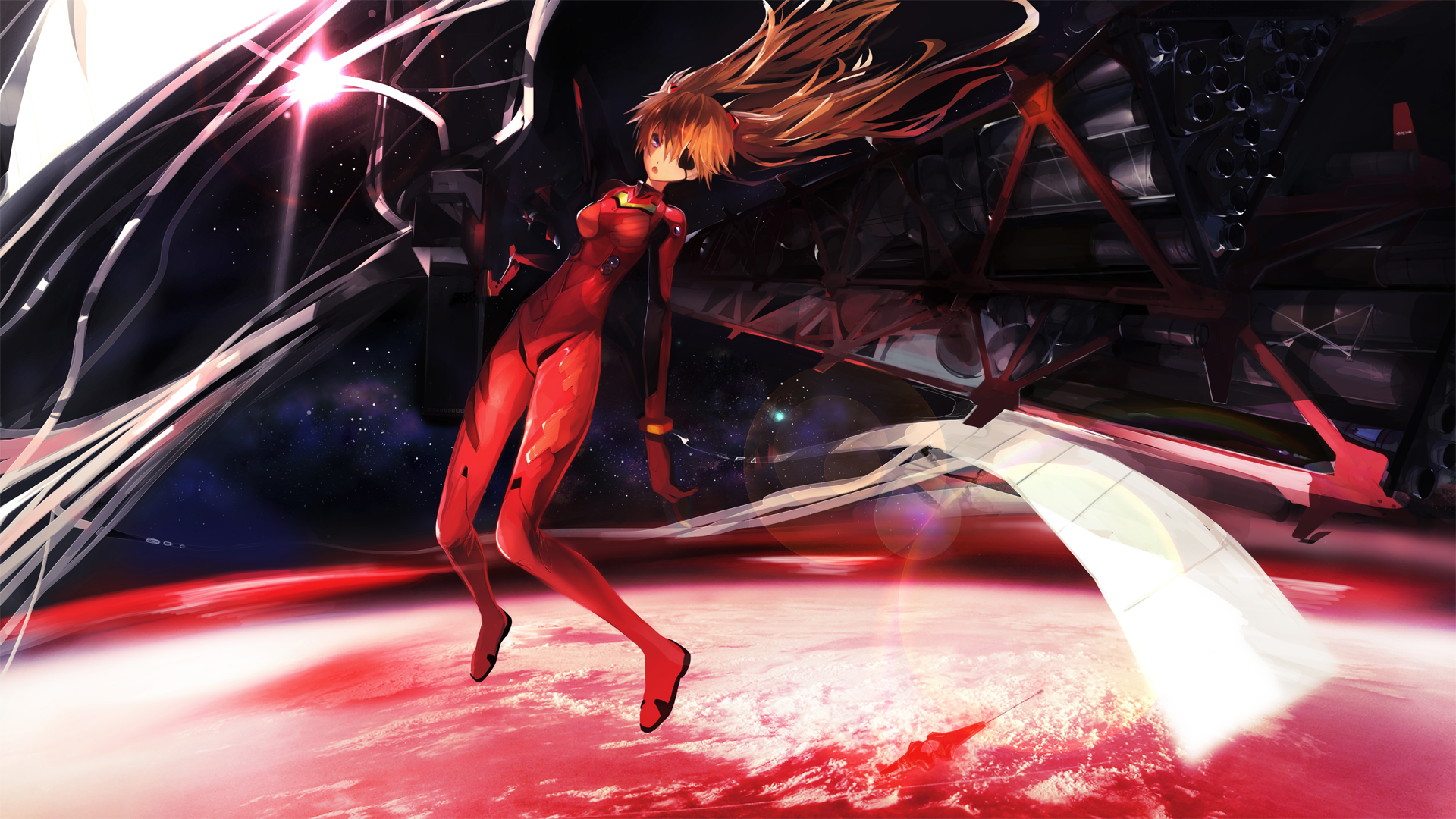 Anime 1920x1080 anime Neon Genesis Evangelion Asuka Langley Soryu