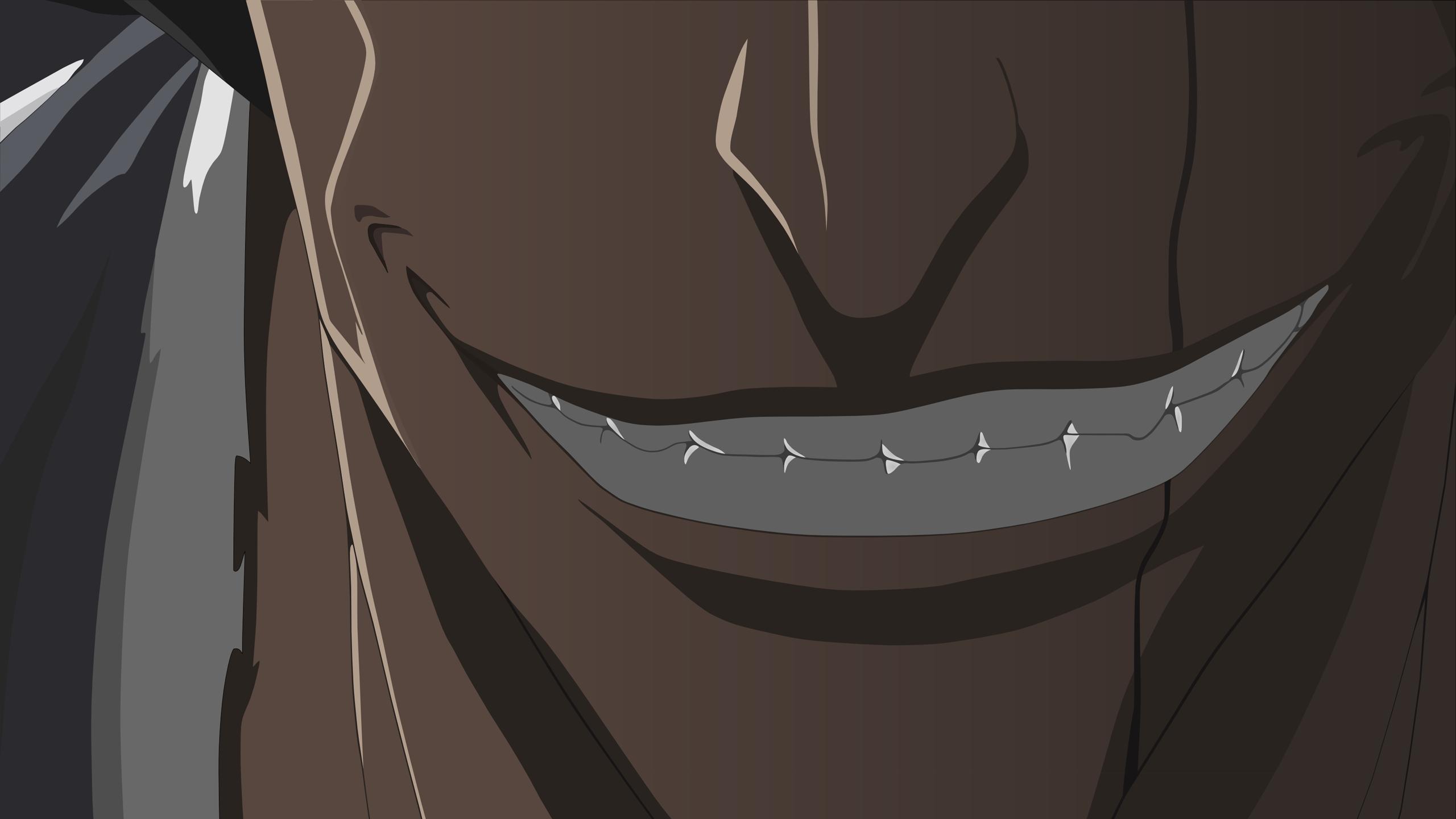 Anime 2560x1440 Bleach anime Zaraki Kenpachi