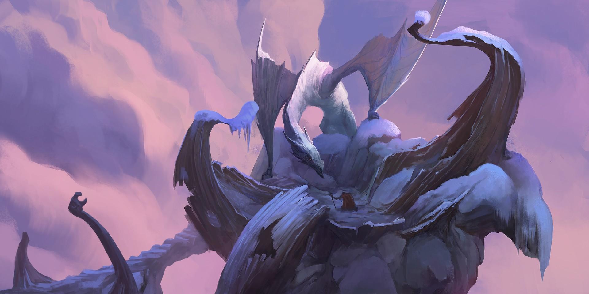 General 1920x960 fantasy art dragon artwork