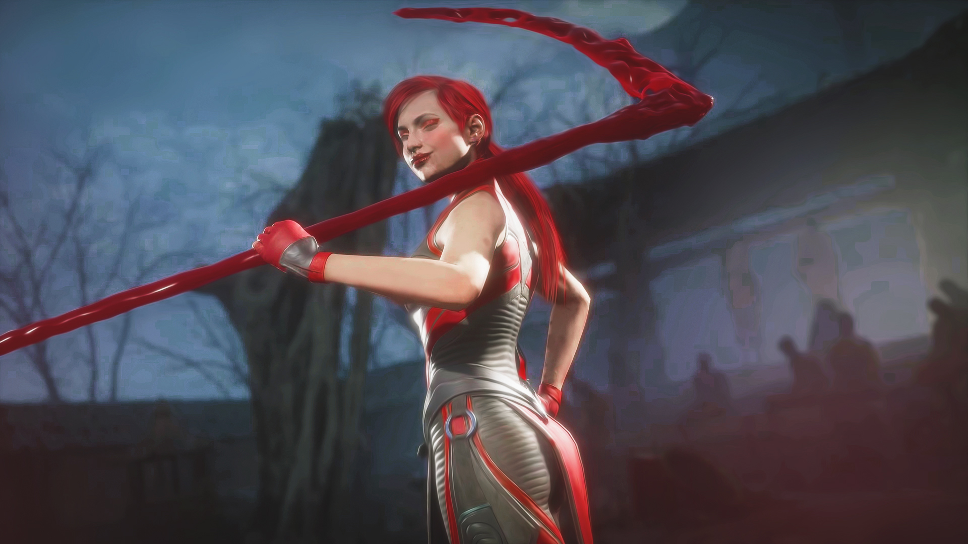 General 1920x1080 Skarlet Mortal Kombat mk11 video game girls
