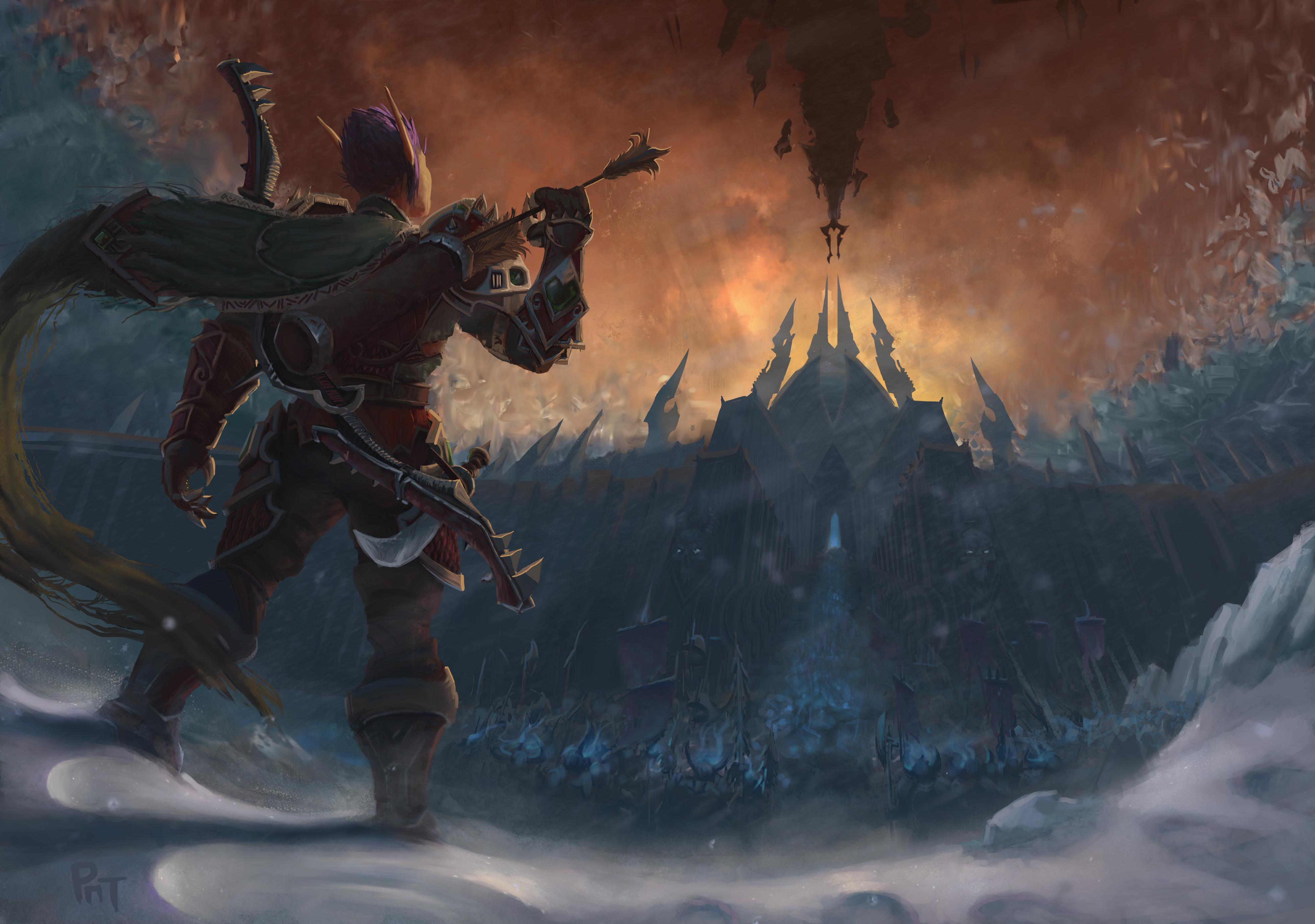 General 4000x2812 World of Warcraft: Shadowlands fantasy art fan art World of Warcraft