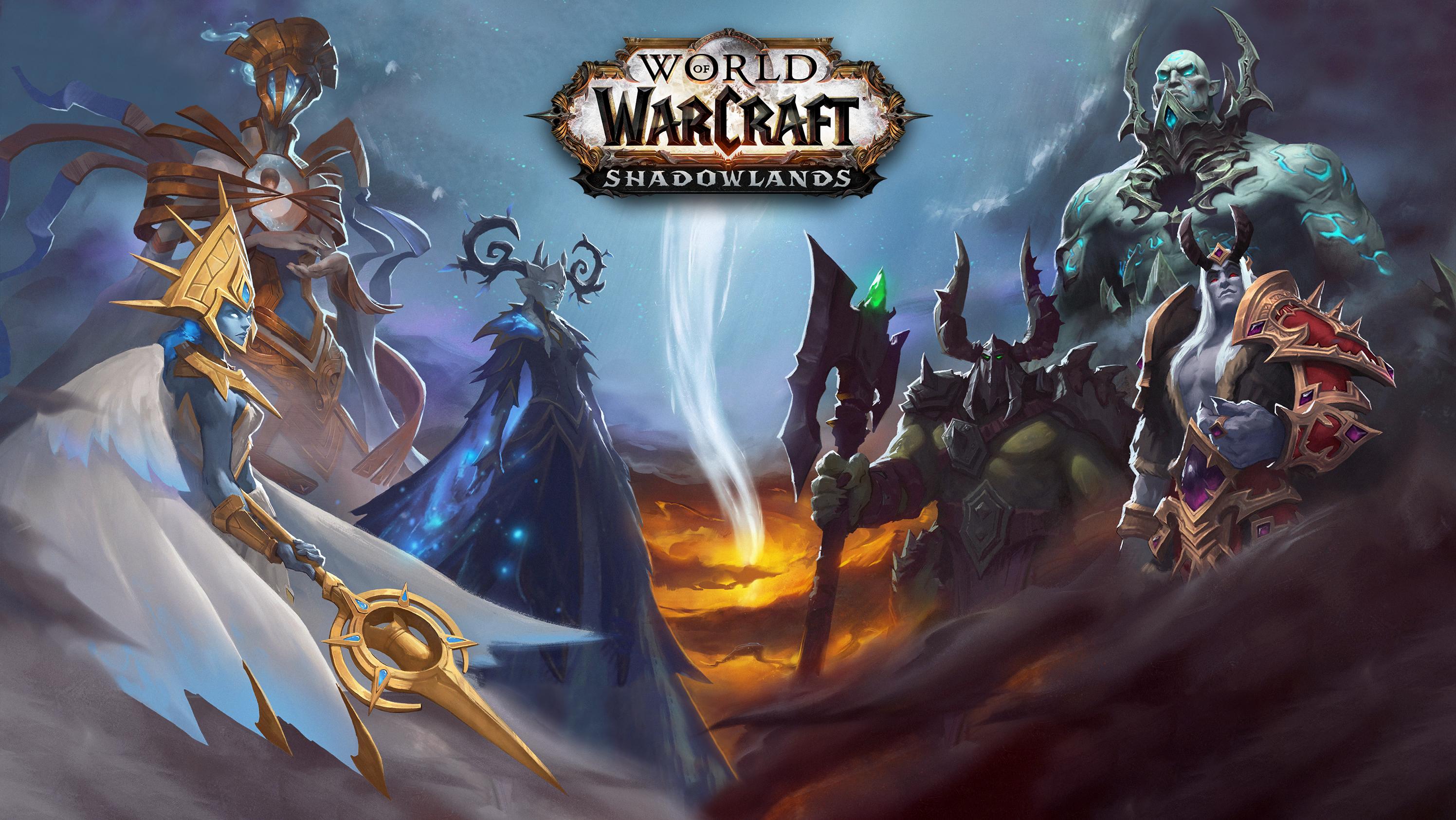 General 2992x1684 World of Warcraft: Shadowlands fantasy art video game art World of Warcraft