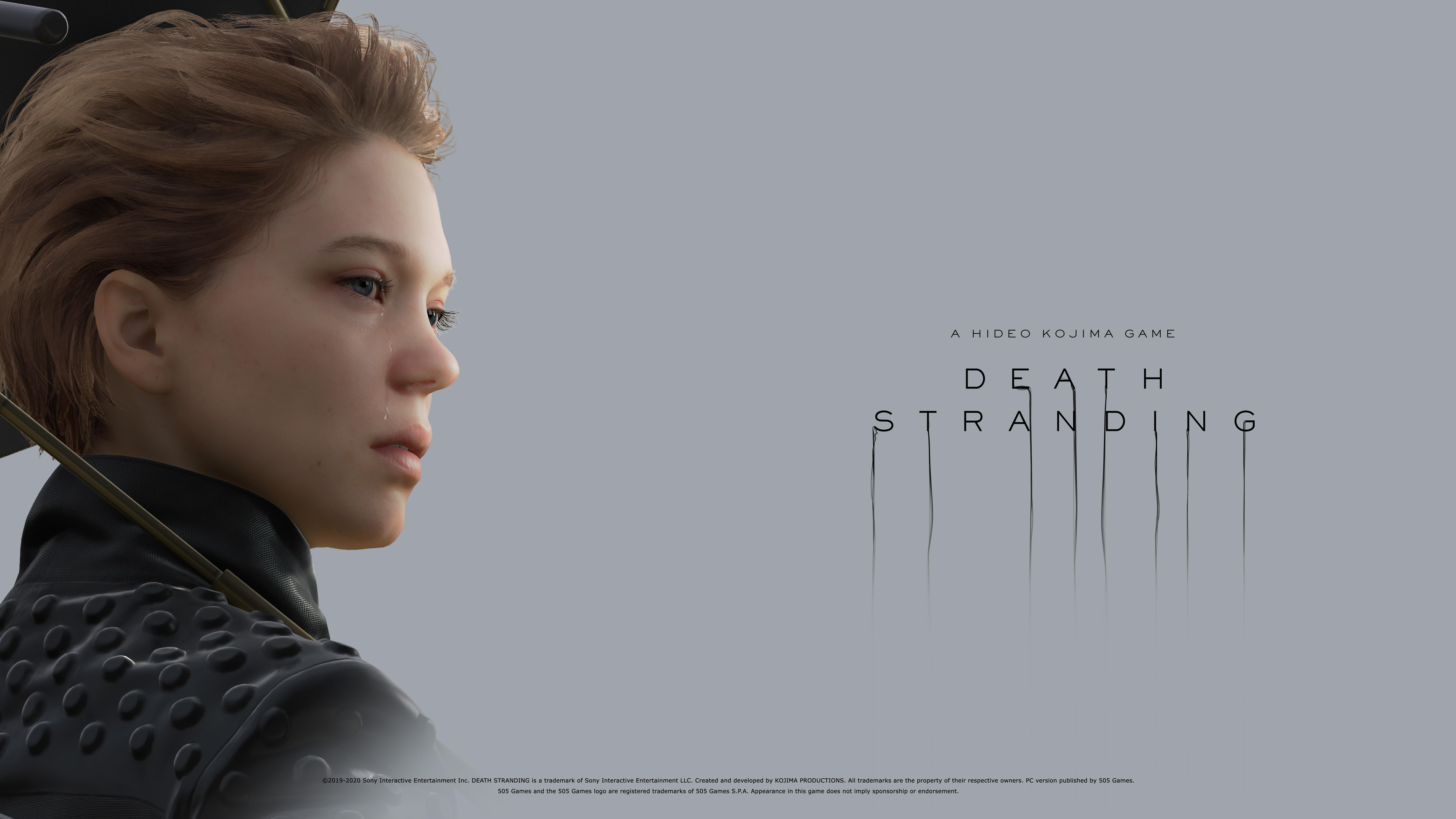 General 7680x4320 Death Stranding Hideo Kojima Fragile (Death Stranding) Léa Seydoux video games video game girls