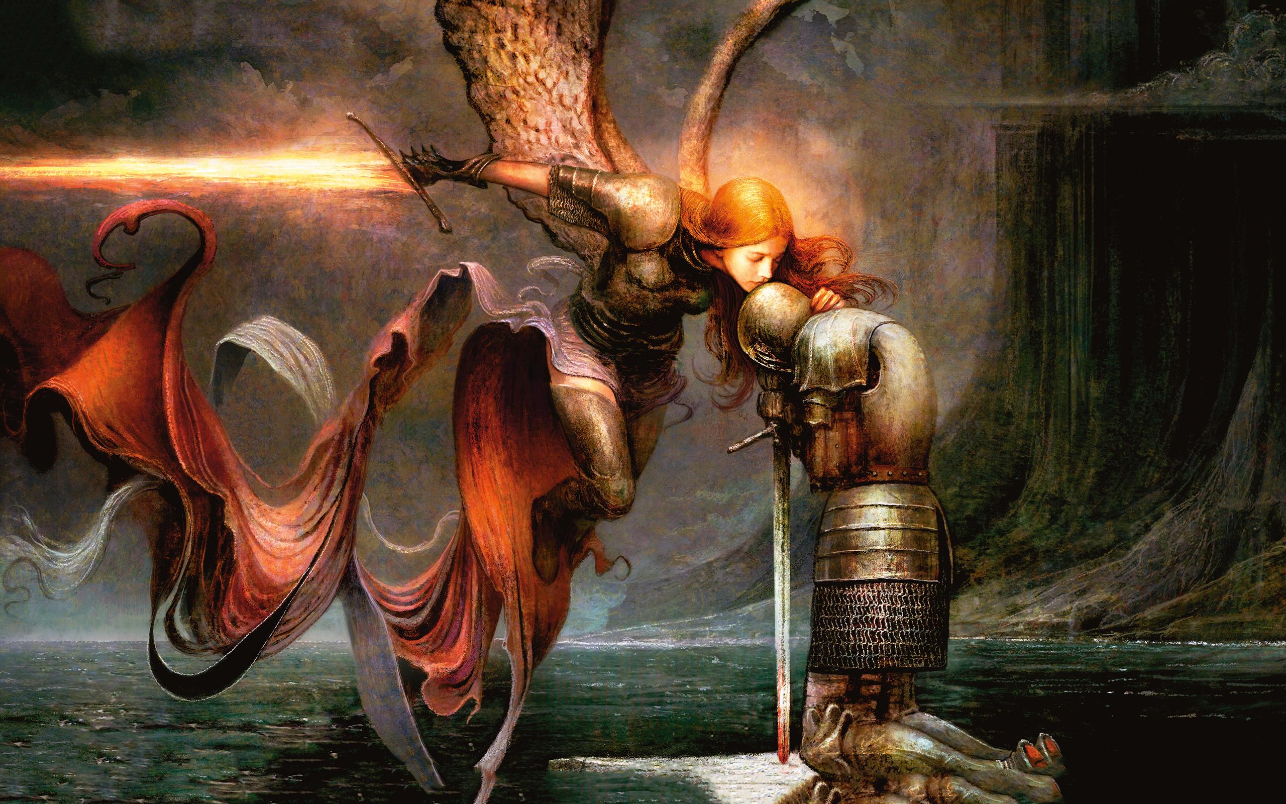 General 2560x1600 Magic: The Gathering Seb McKinnon fantasy art fantasy girl