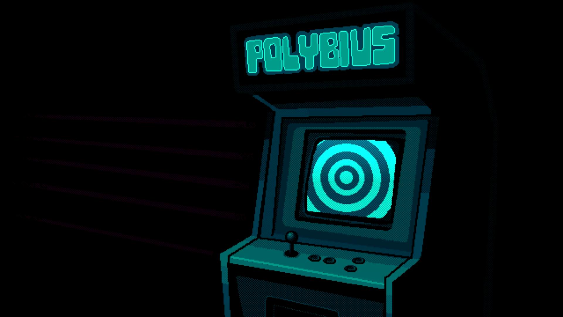 General 1920x1081 synthwave polybius retro games 8-bit arcade  creepy pixel art pixels Ahoy teal