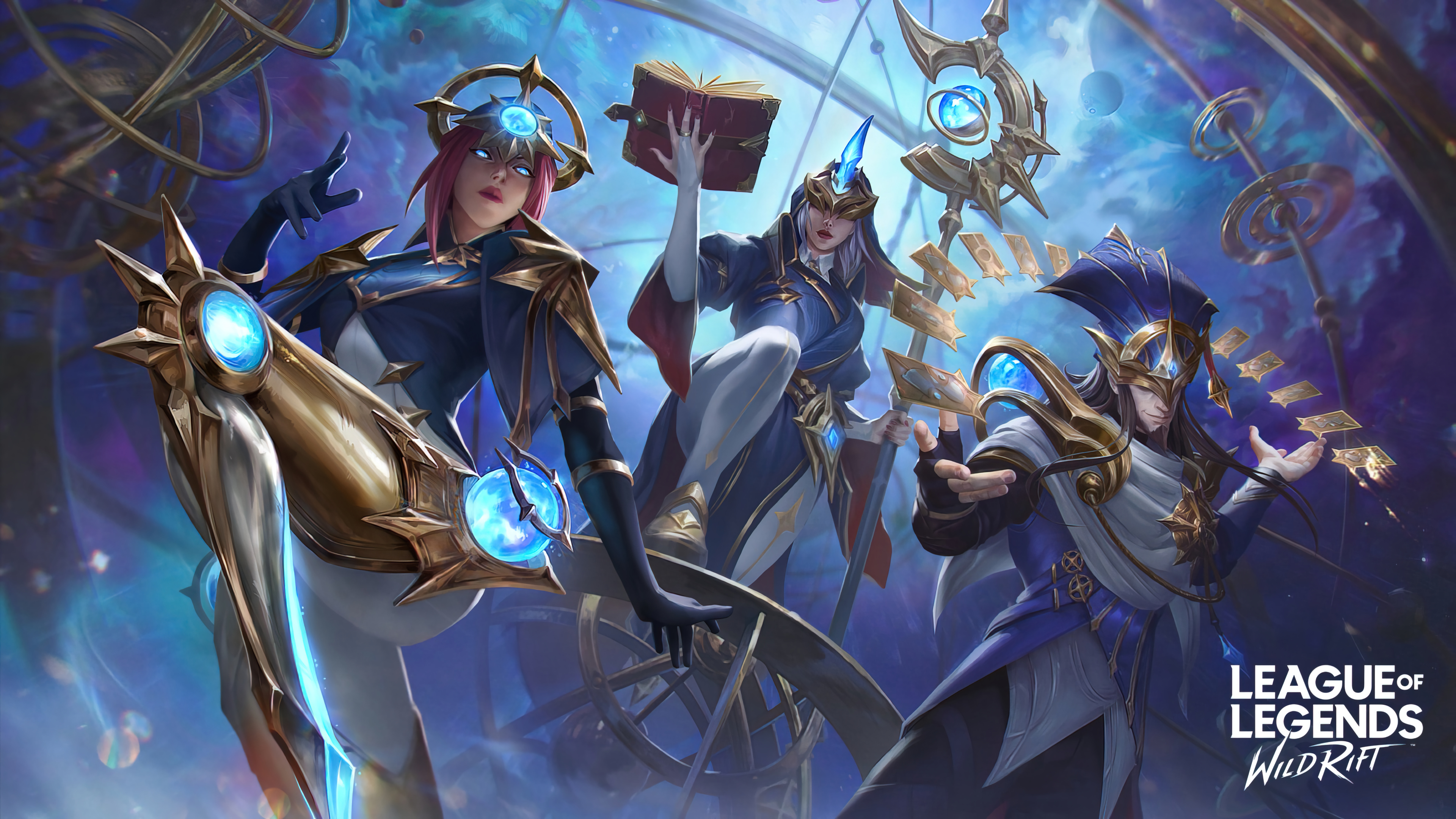 General 3840x2160 Camille (League of Legends) Soraka Soraka (League of Legends) League of Legends Riot Games Support (League Of Legends) supporters galaxy astronaut planet 4K