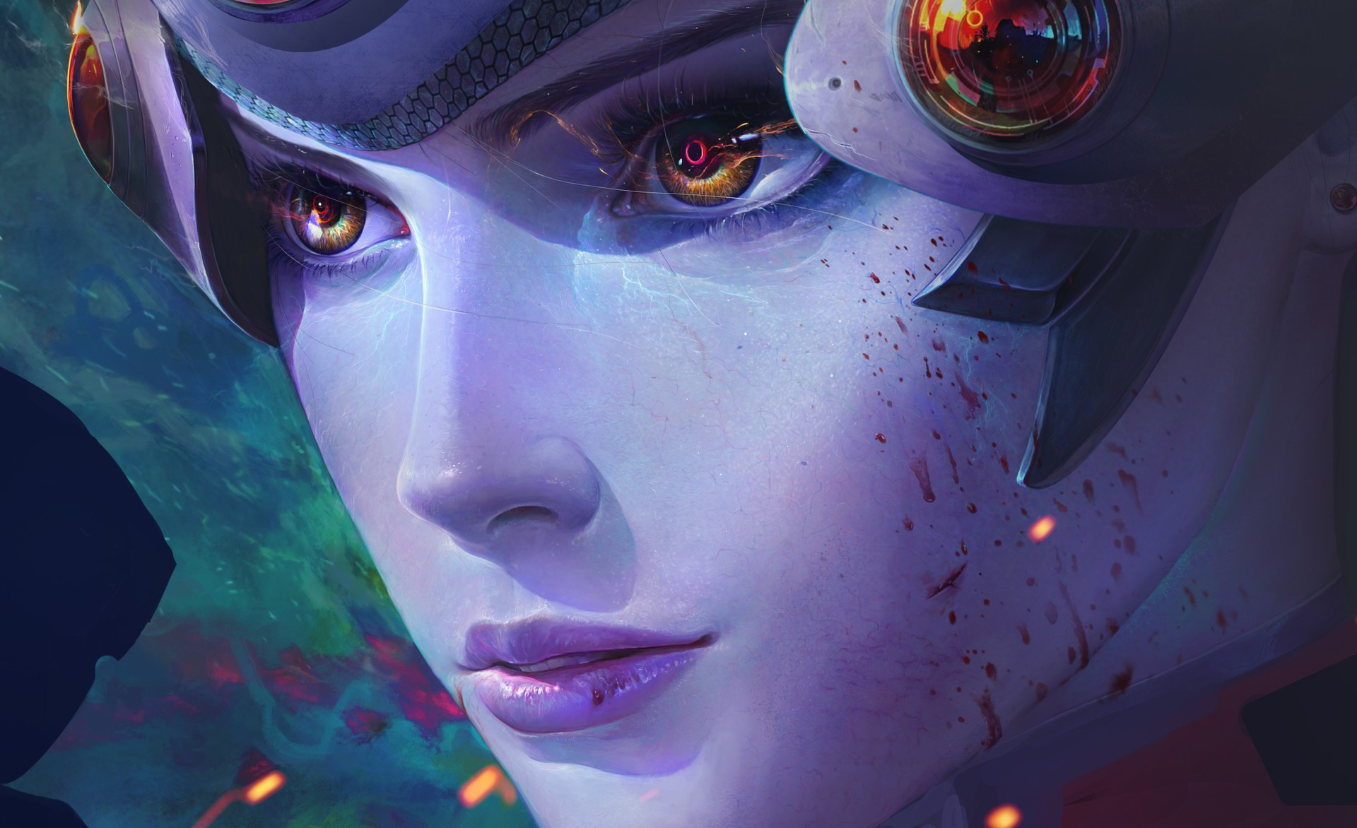 General 1920x1172 Overwatch Widowmaker (Overwatch) JOO YANN ANG