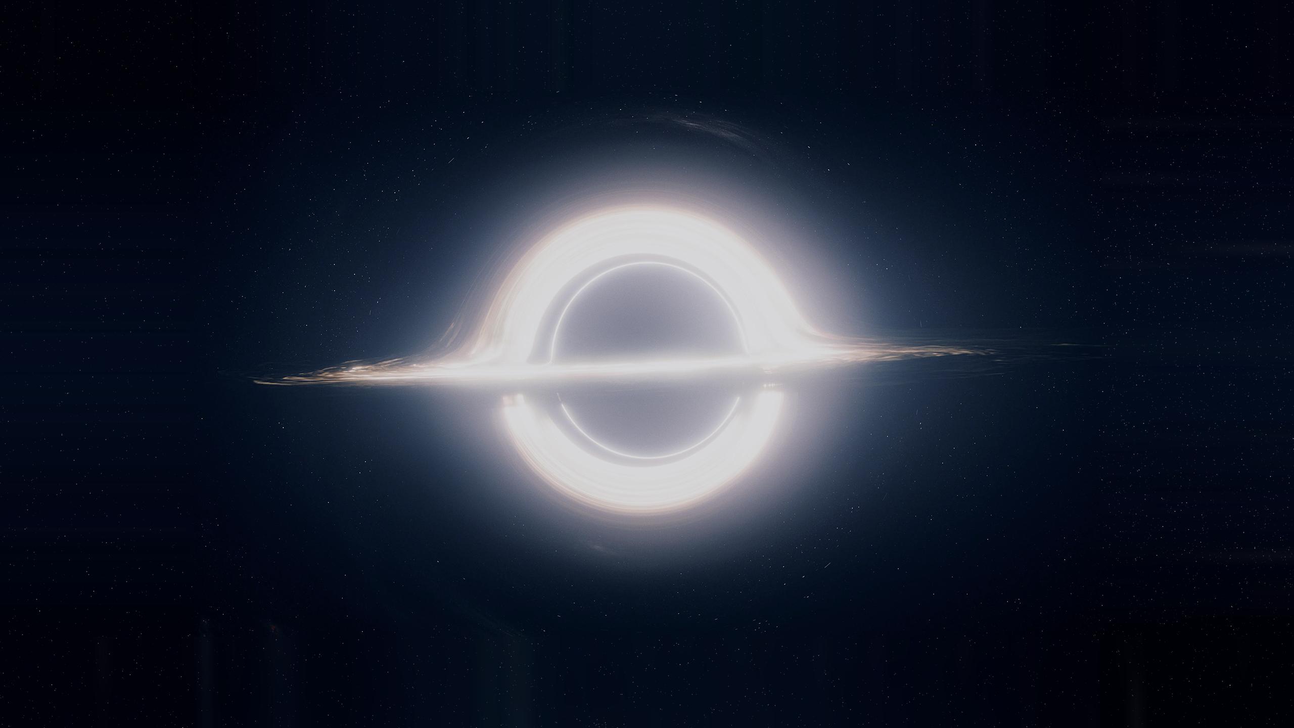 General 2560x1440 space Interstellar (movie) black holes supermassive black hole astronomy