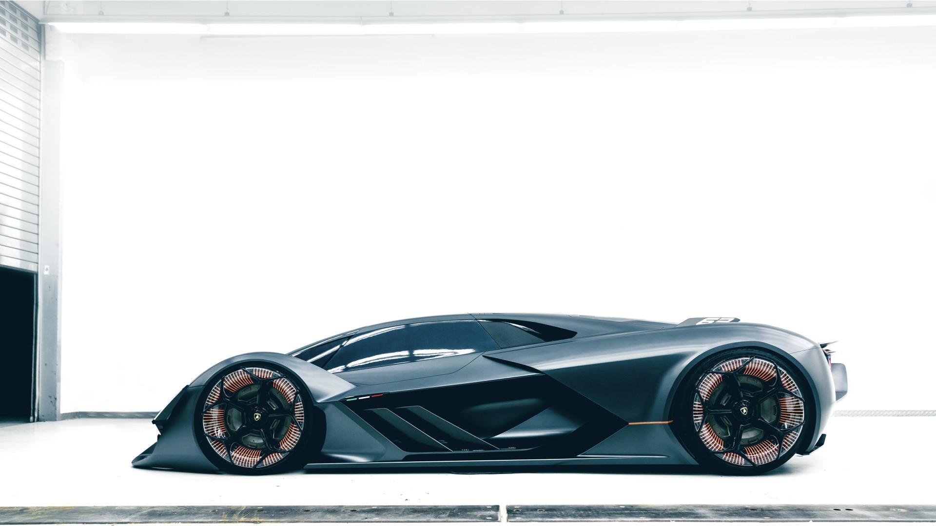 General 1920x1080 Lamborghini Terzo Millenio car Lamborghini Hypercar concept cars