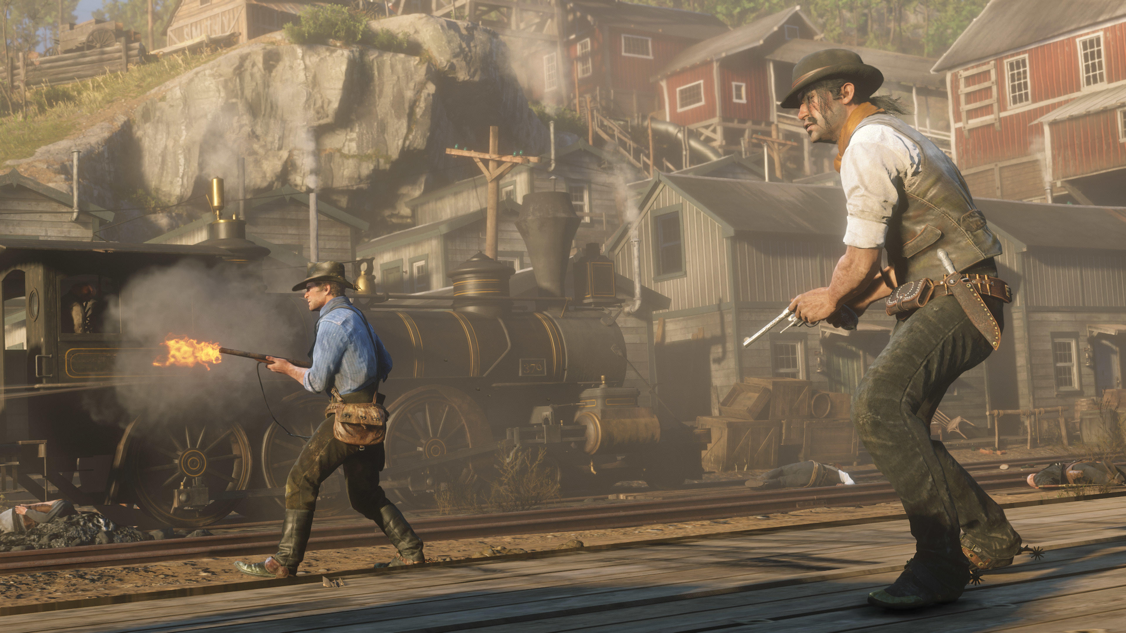 General 3840x2160 Red Dead Redemption Rockstar Games Red Dead Redemption 2 video games Arthur Morgan Javier Escuella