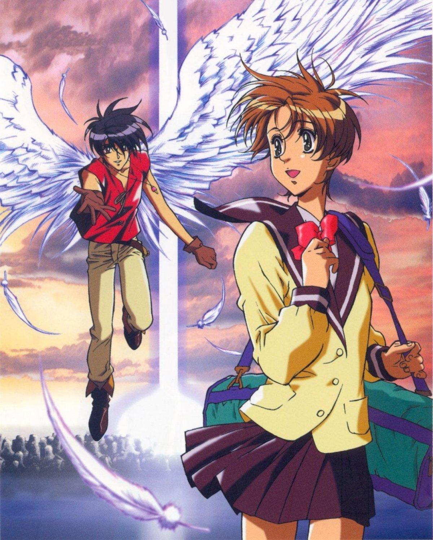 Anime 1200x1498 Escaflowne Tenkuu no Escaflowne The Vision of Escaflowne Hitomi Kanzaki Van Fanel anime