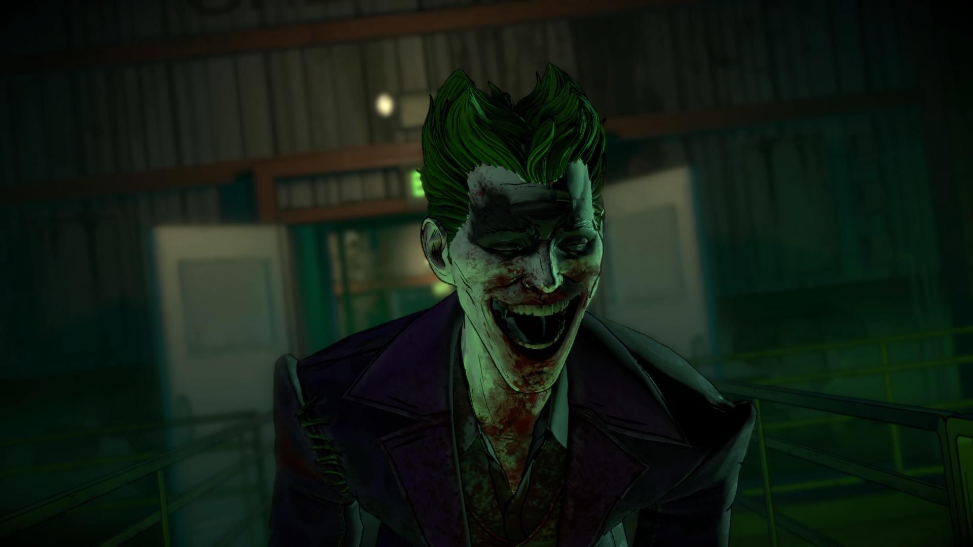 General 1920x1080 Joker PlayStation 4 Batman video games Batman: The Telltale Series