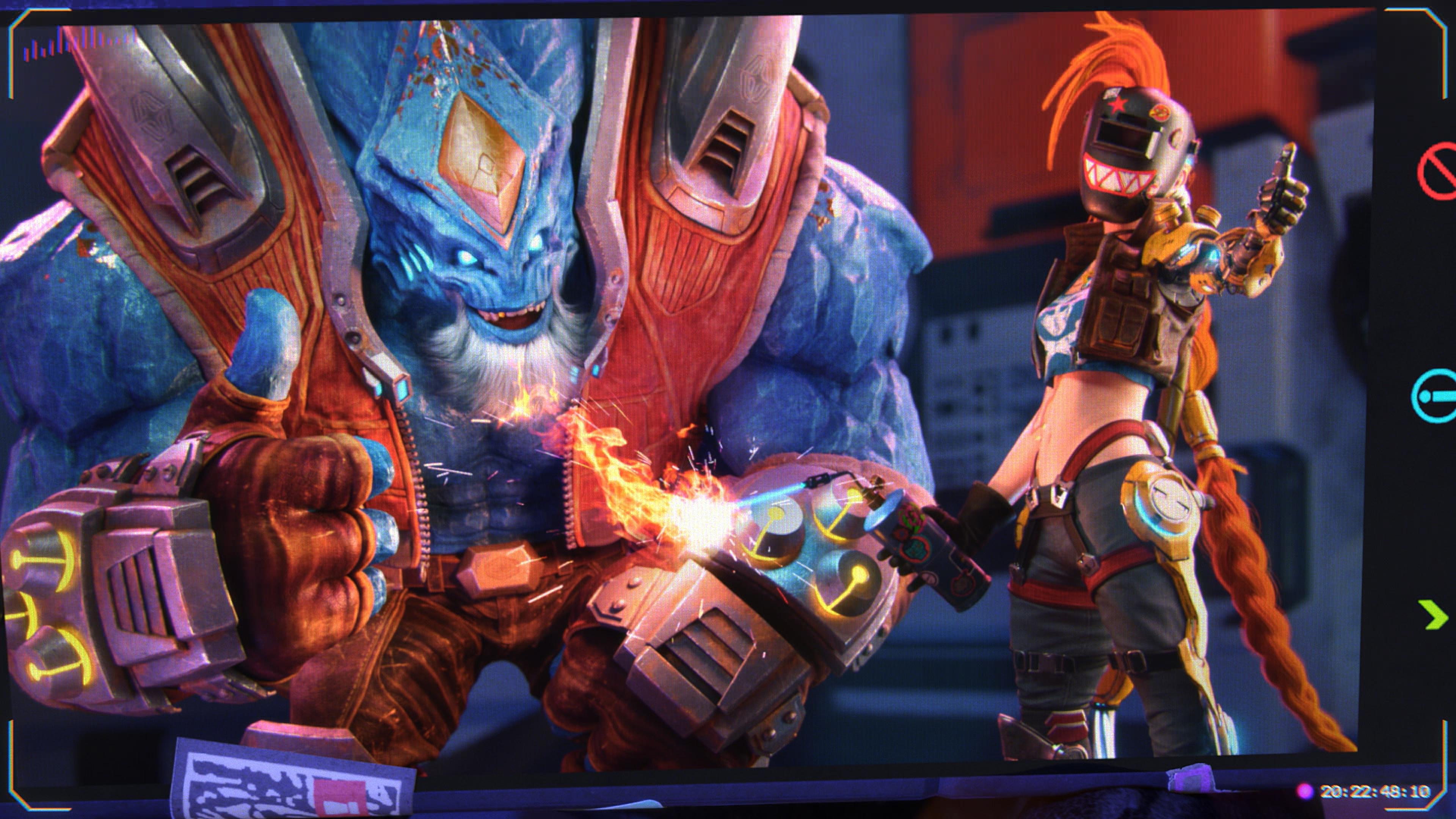General 3840x2160 League of Legends Malphite Jinx video games