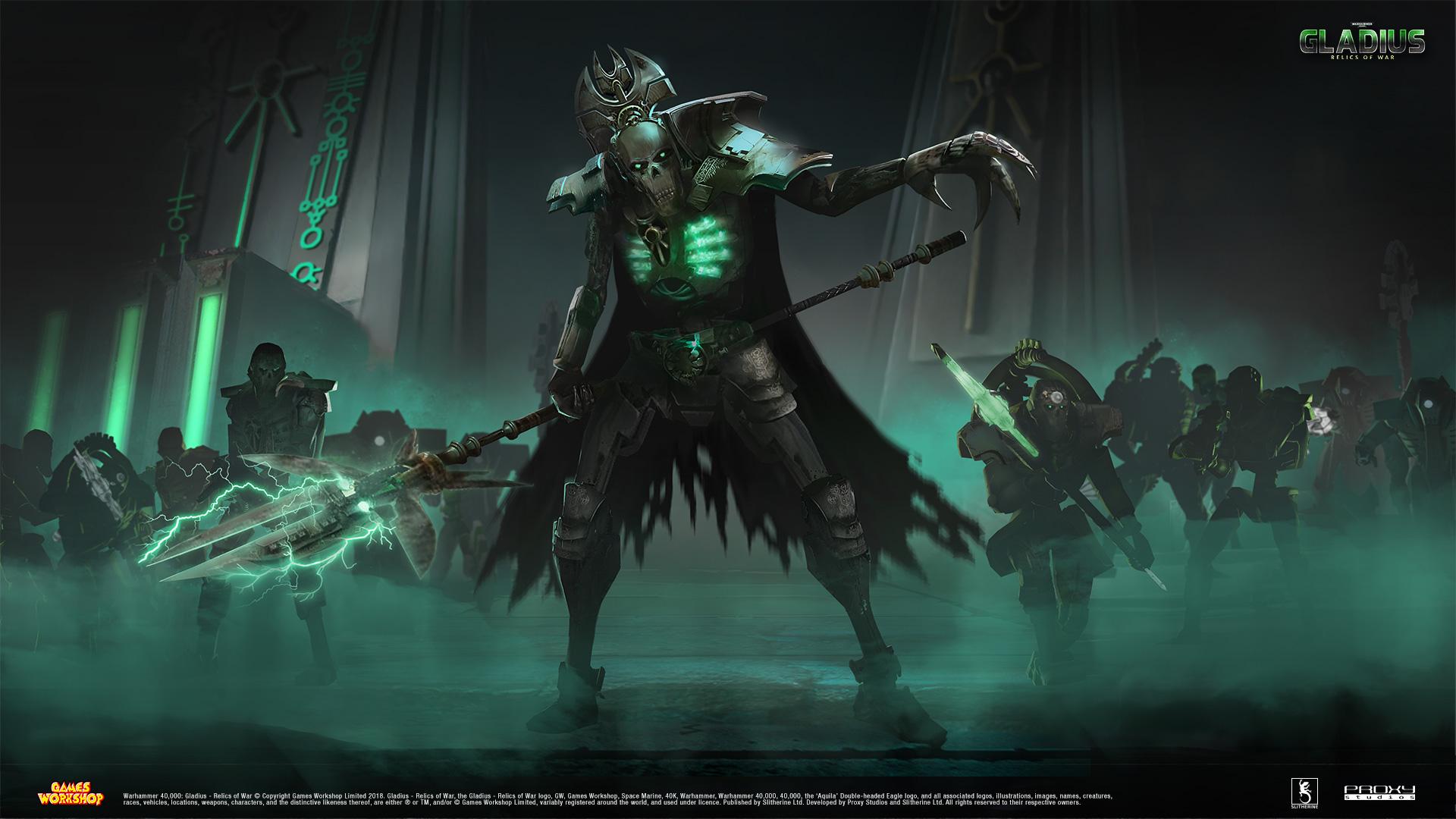 General 1920x1080 Warhammer 40,000 Gladius Necrons Games Workshop Warhammer