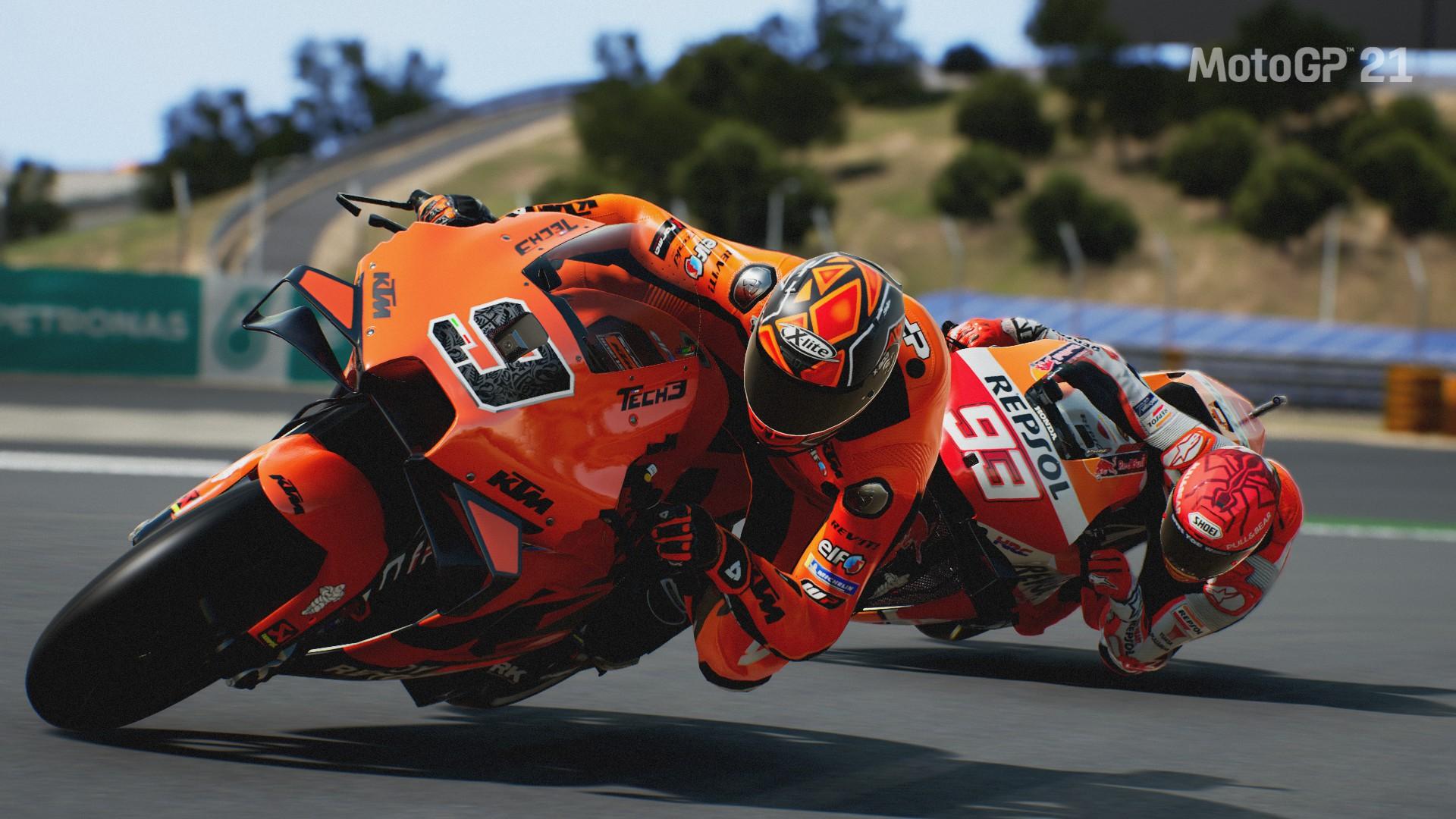 General 1920x1080 Moto GP motorcycle Racing Motorcycle racing Marc Marquez Speed Design Honda KTM Honda RC213V KTM RC16 Danilo Petrucci sport  sports Motorsport vehicle