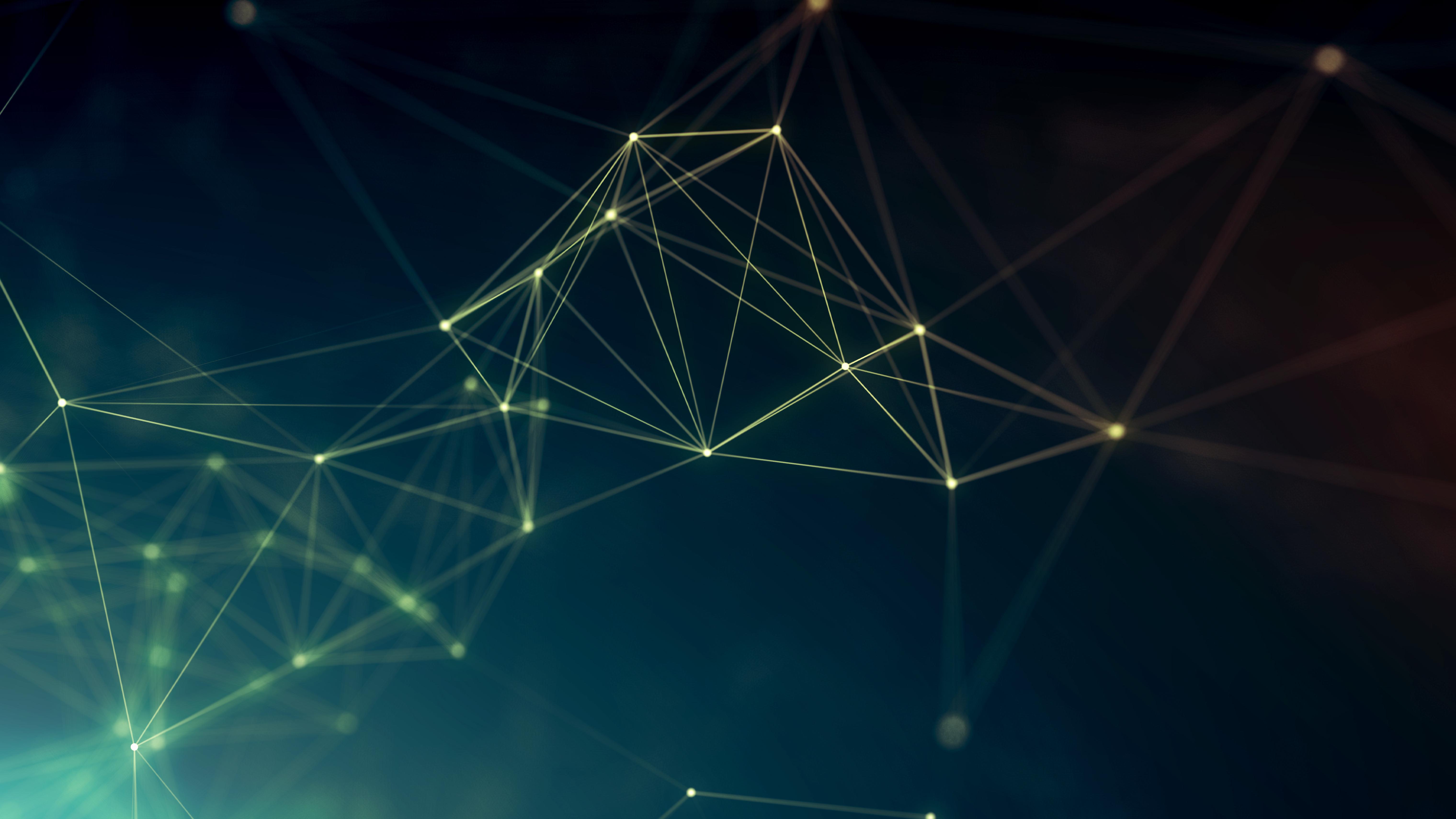 General 6080x3420 geometry cyberspace abstract digital art lines