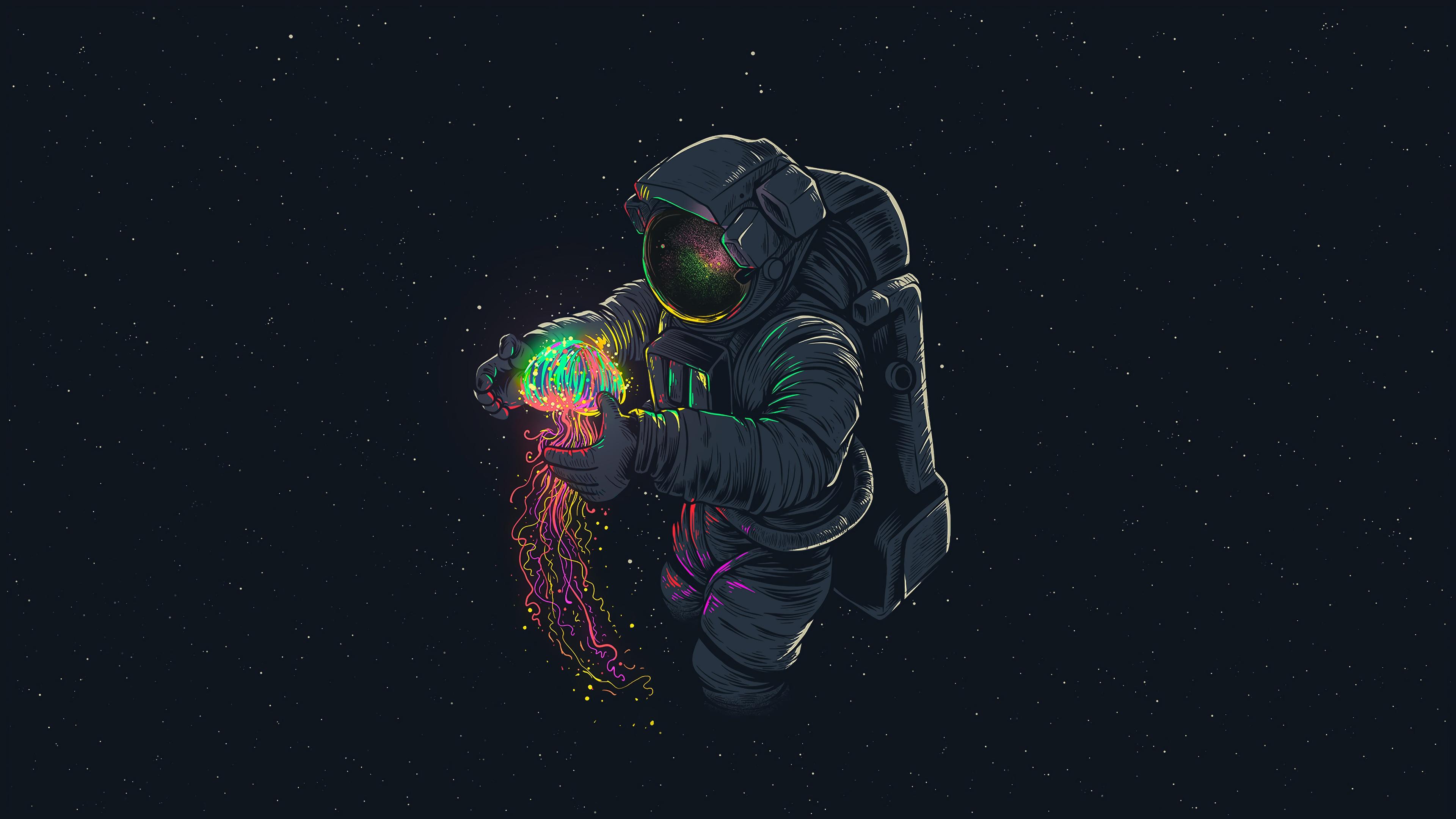 JellyFish Astronaut