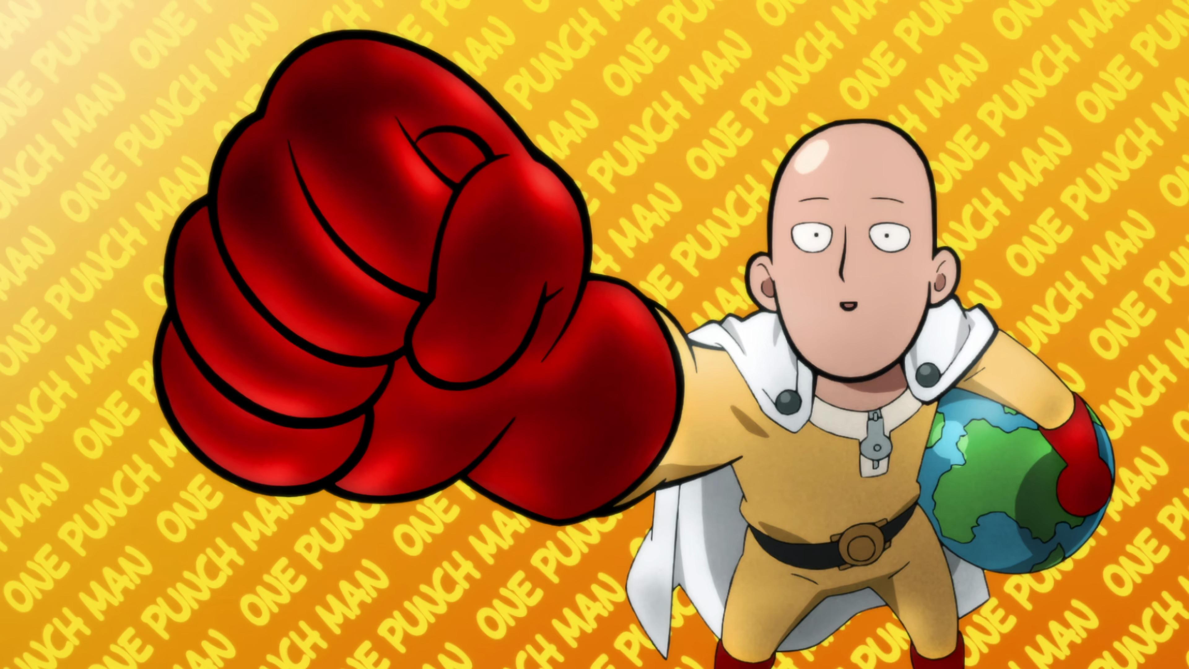 One Punch Man Saitama Lucu - One-Punch Man, Saitama, anime boys, anime, high angle ...