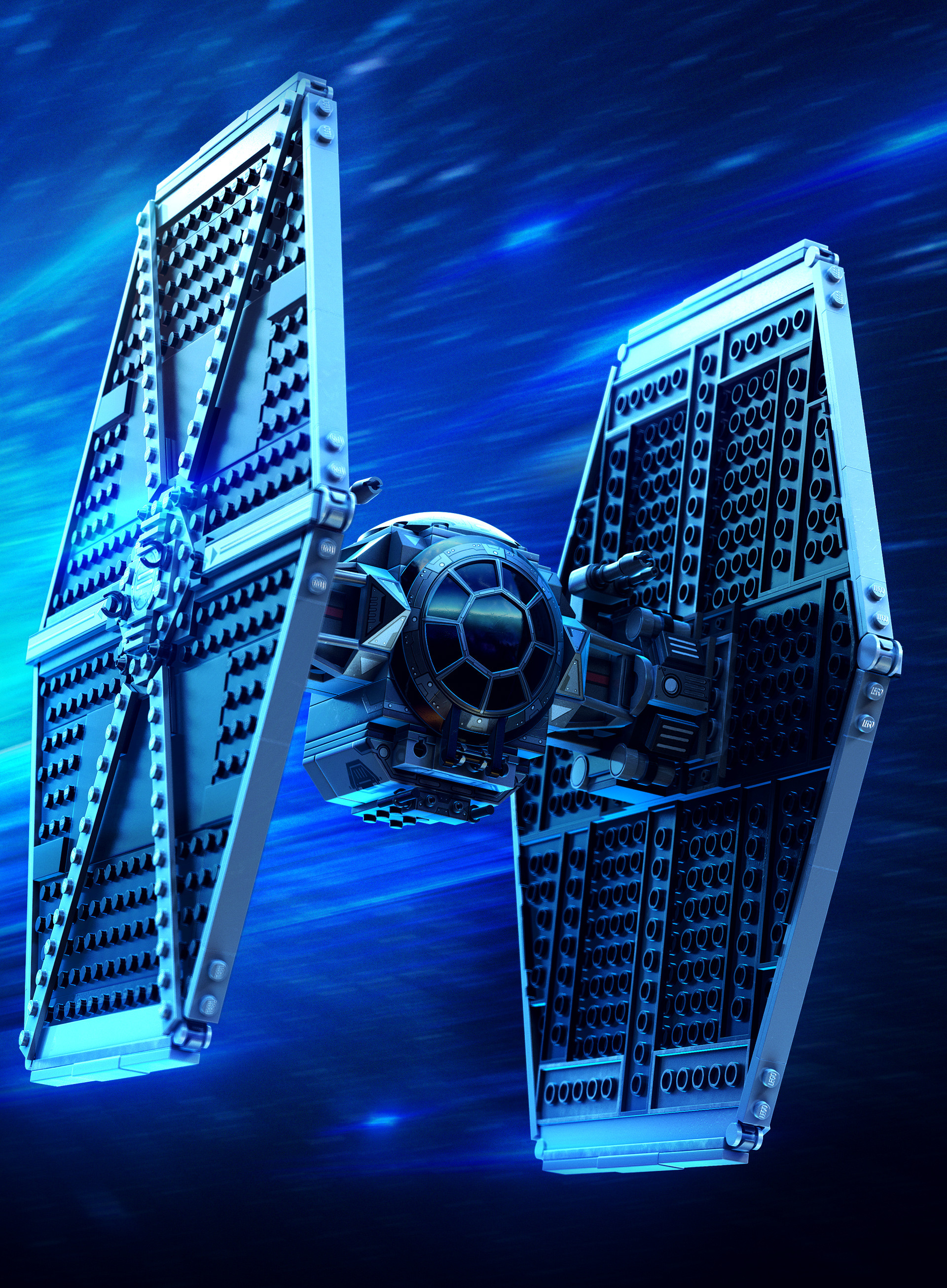 General 1920x2610 Star Wars TIE Fighter ArtStation Michael-Black vehicle toys