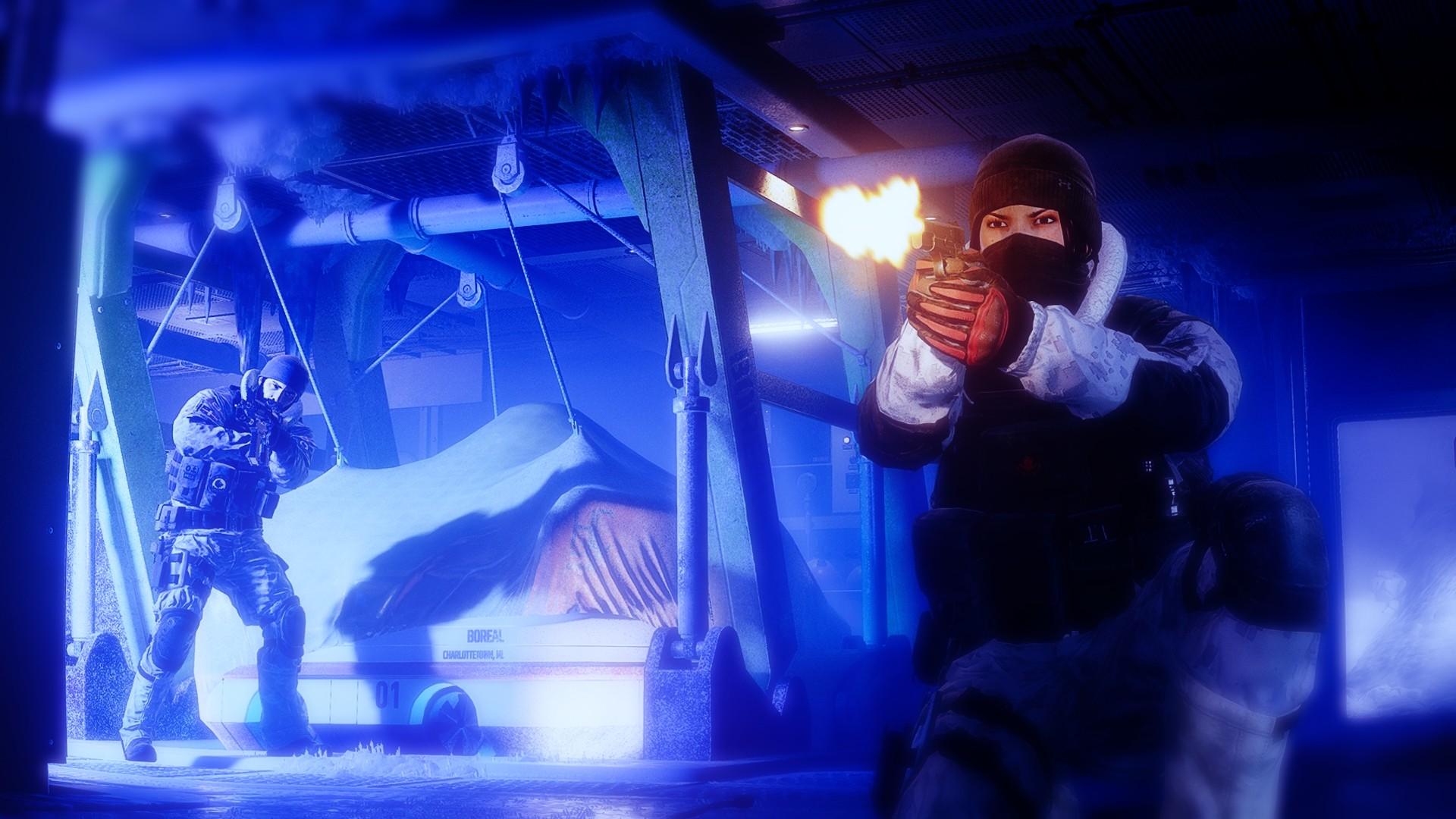 General 1920x1080 Rainbow Six: Siege SWAT video games gun video game art
