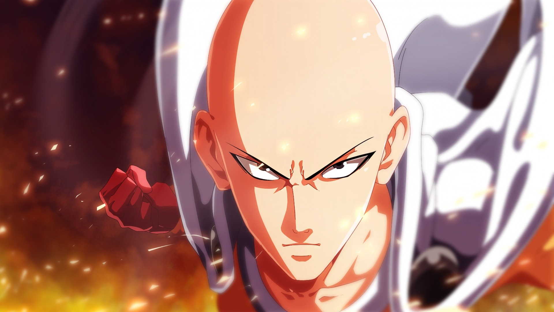 Anime 1920x1080 One-Punch Man Saitama anime