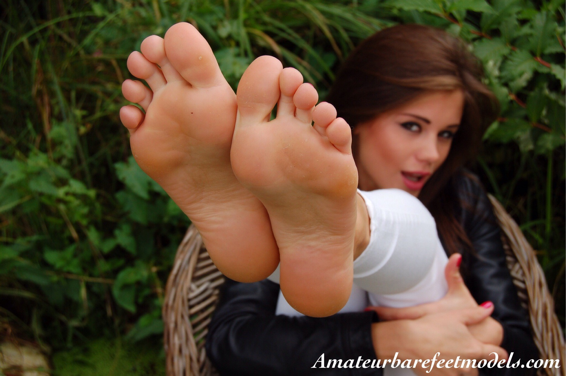 People 1865x1240 Markéta Stroblová brunette women pornstar feet feet in the air feet fetish barefoot