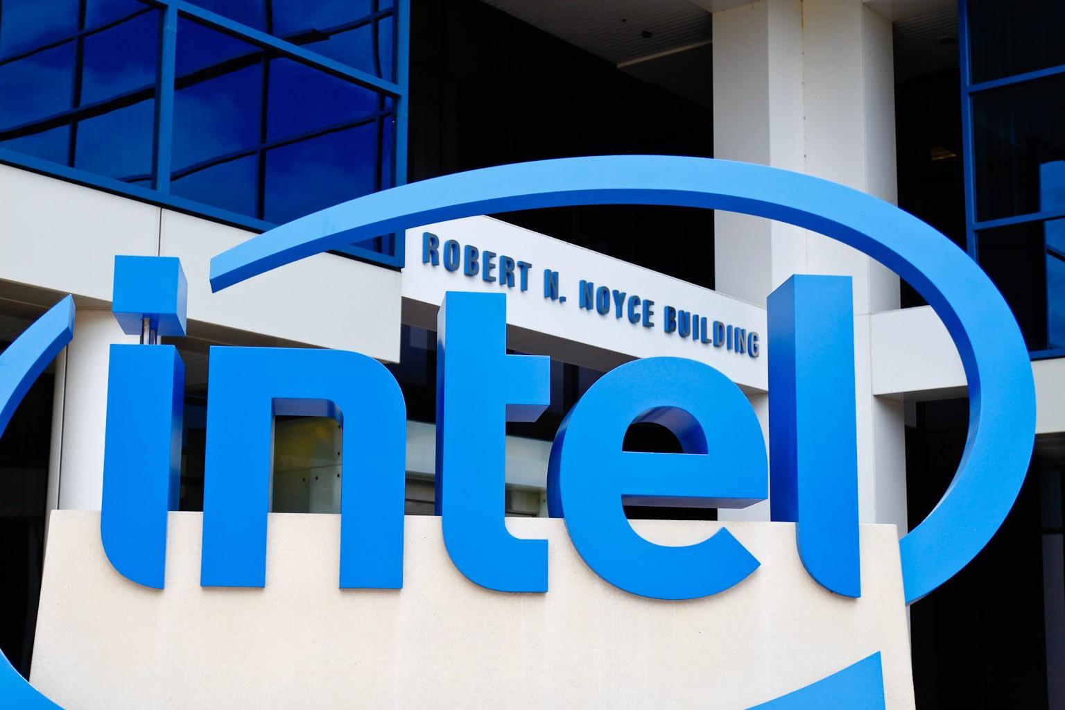 General 1536x1024 Intel company CPU technology building logo