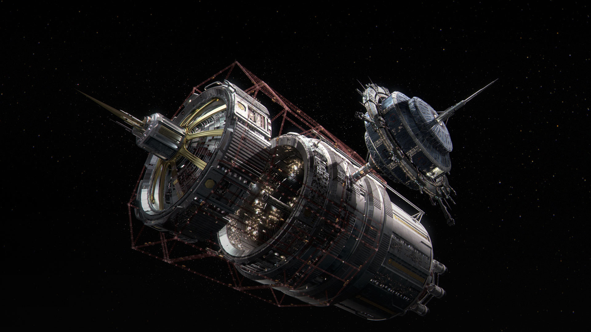 General 1920x1080 space The Expanse Tycho Station