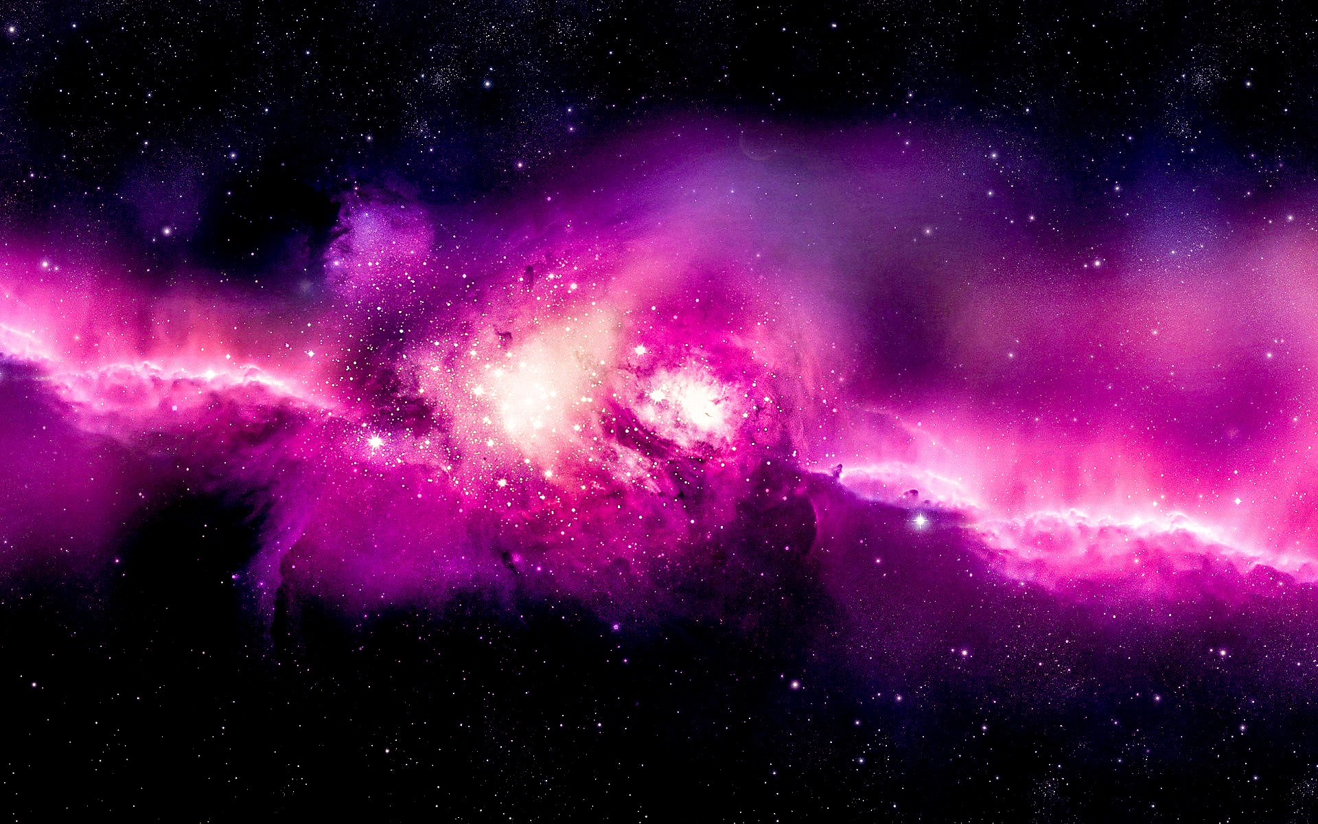General 1920x1200 Andromeda spiral galaxy space space art