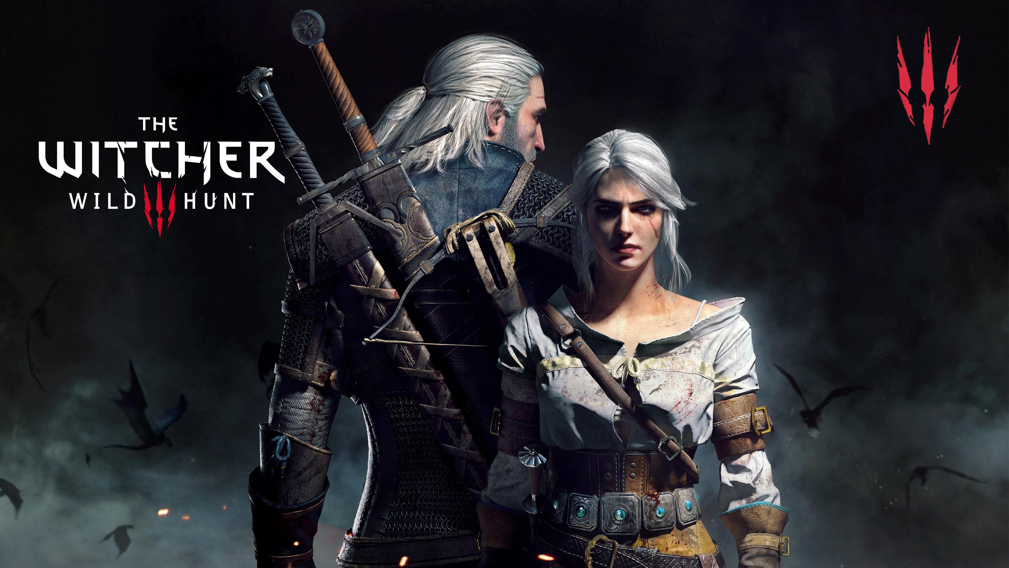 General 3840x2160 The Witcher 3: Wild Hunt Geralt of Rivia Ciri Cirilla CD Projekt RED Cirilla Fiona Elen Riannon Andrzej Sapkowski