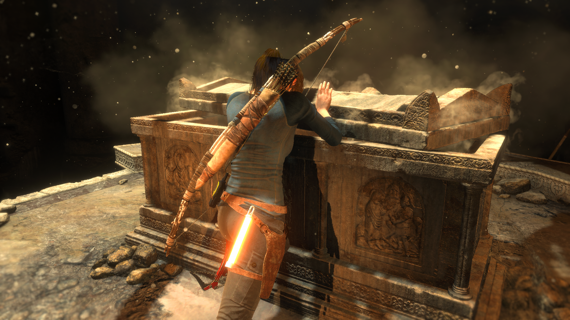 General 1920x1080 Rise of the Tomb Raider Tomb Raider screen shot Lara Croft video games