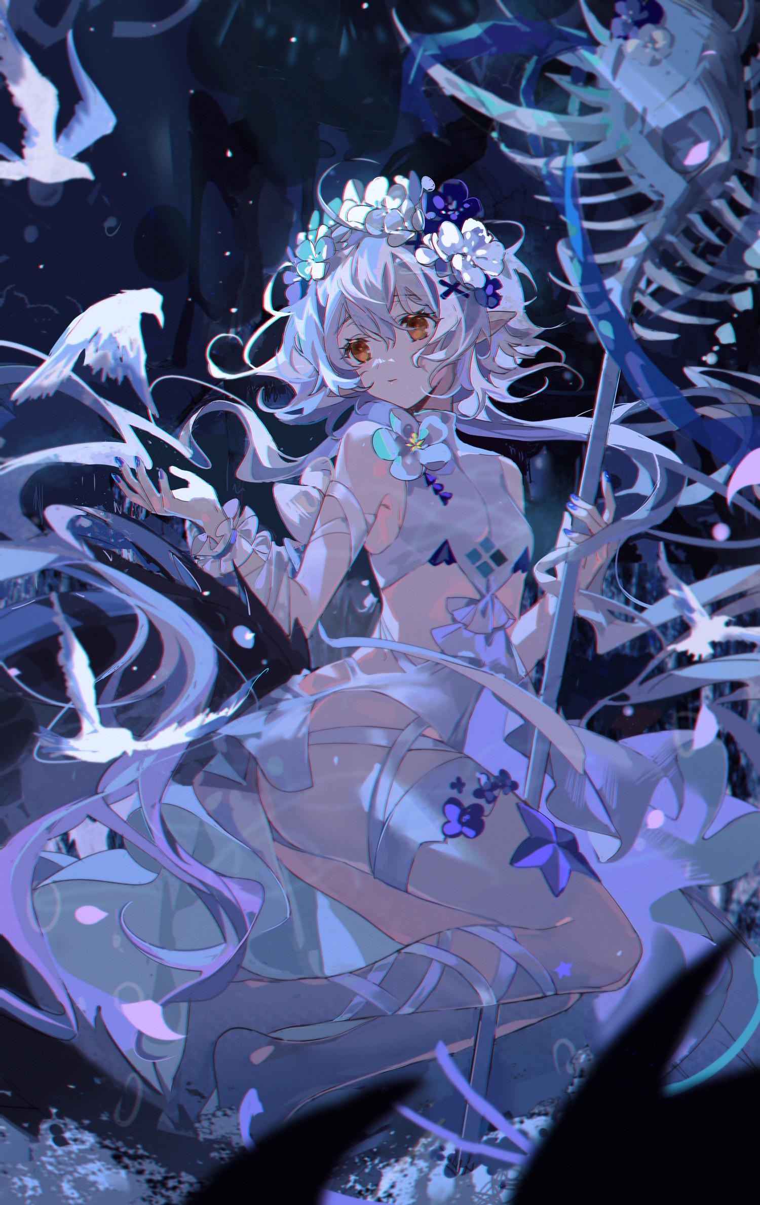 Anime 1500x2376 anime anime girls KANOSE Arknights