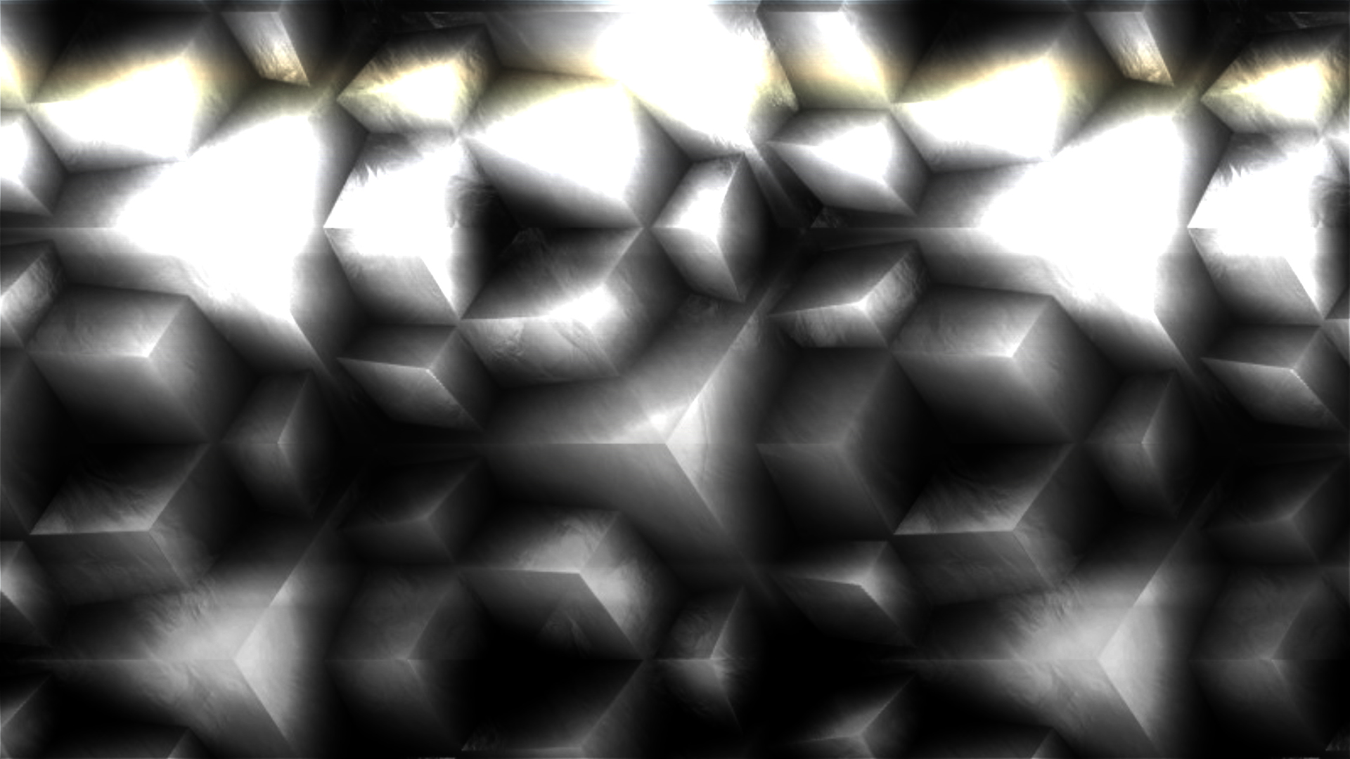 General 1920x1080 3D Abstract cube digital art