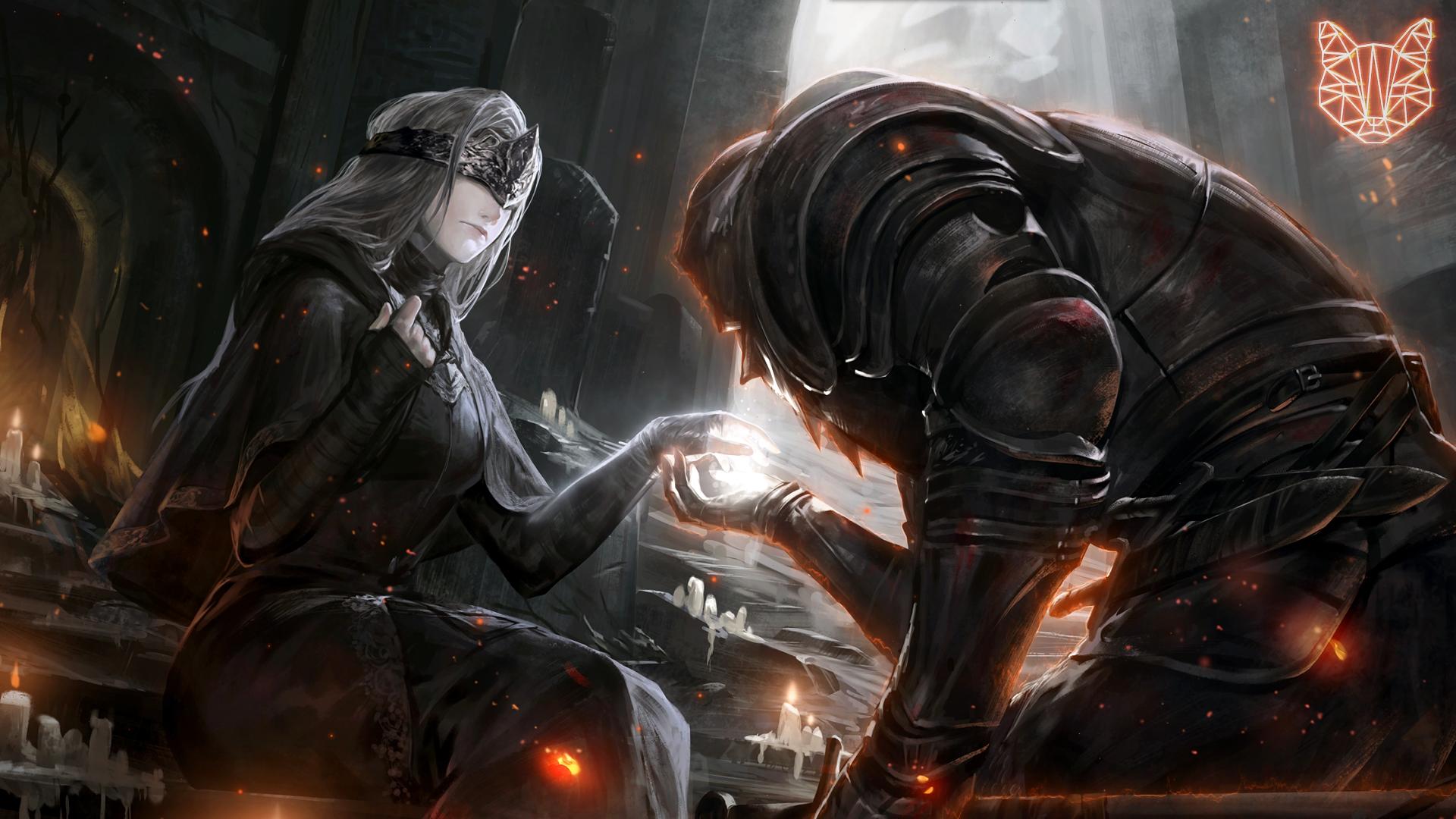 General 1920x1080 Dark Souls video game art video game characters dark souls 3 Dark Souls III
