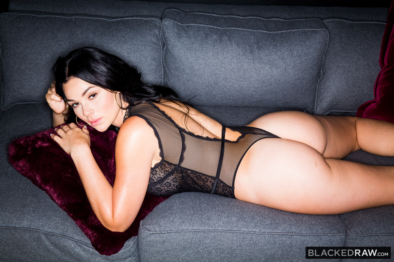 People 3000x2000 Skyla Novea blackedraw ass pornstar bodysuit dark hair couch women indoors