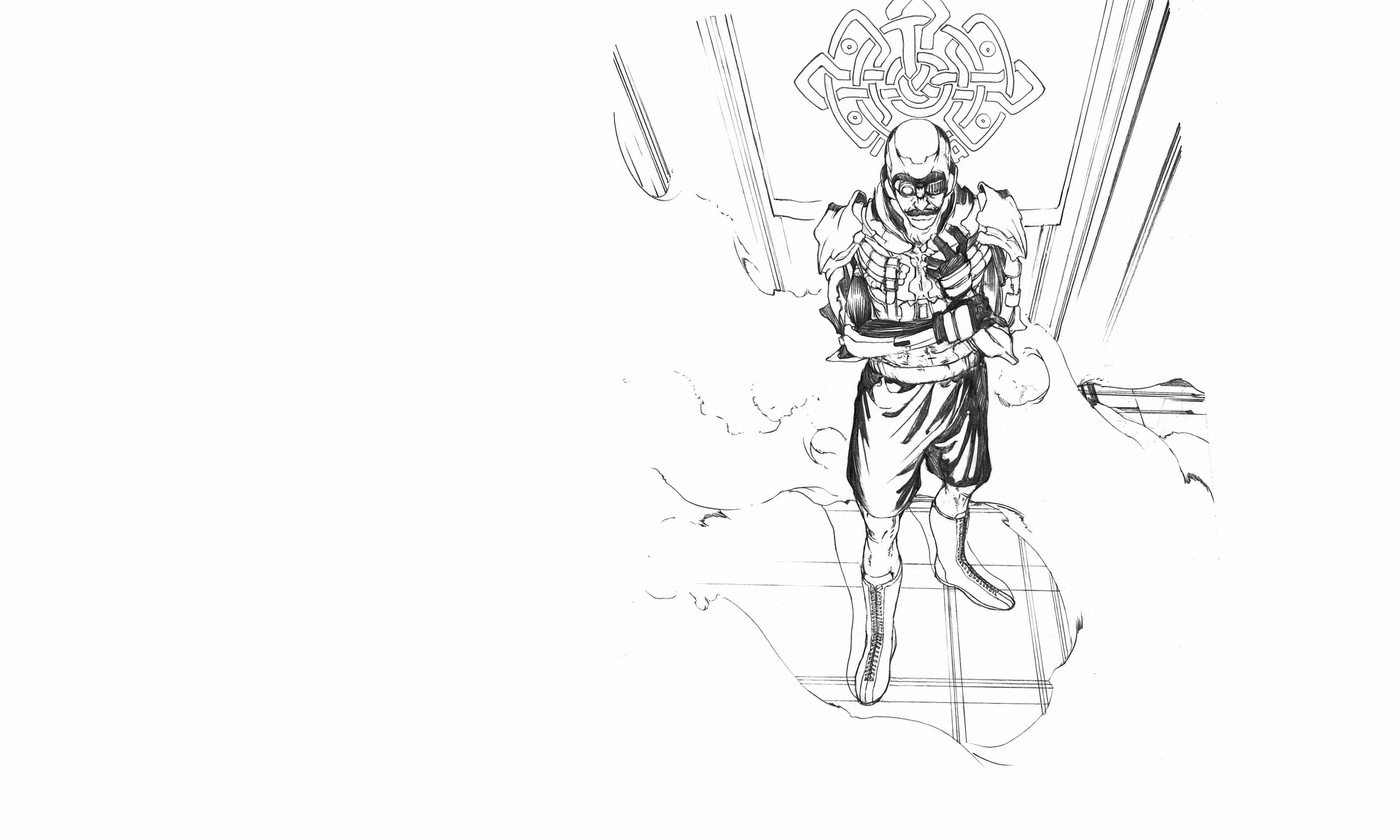 Anime 3840x2304 LEVIUS manga artwork steampunk anime Netflix Netflix TV Series combat