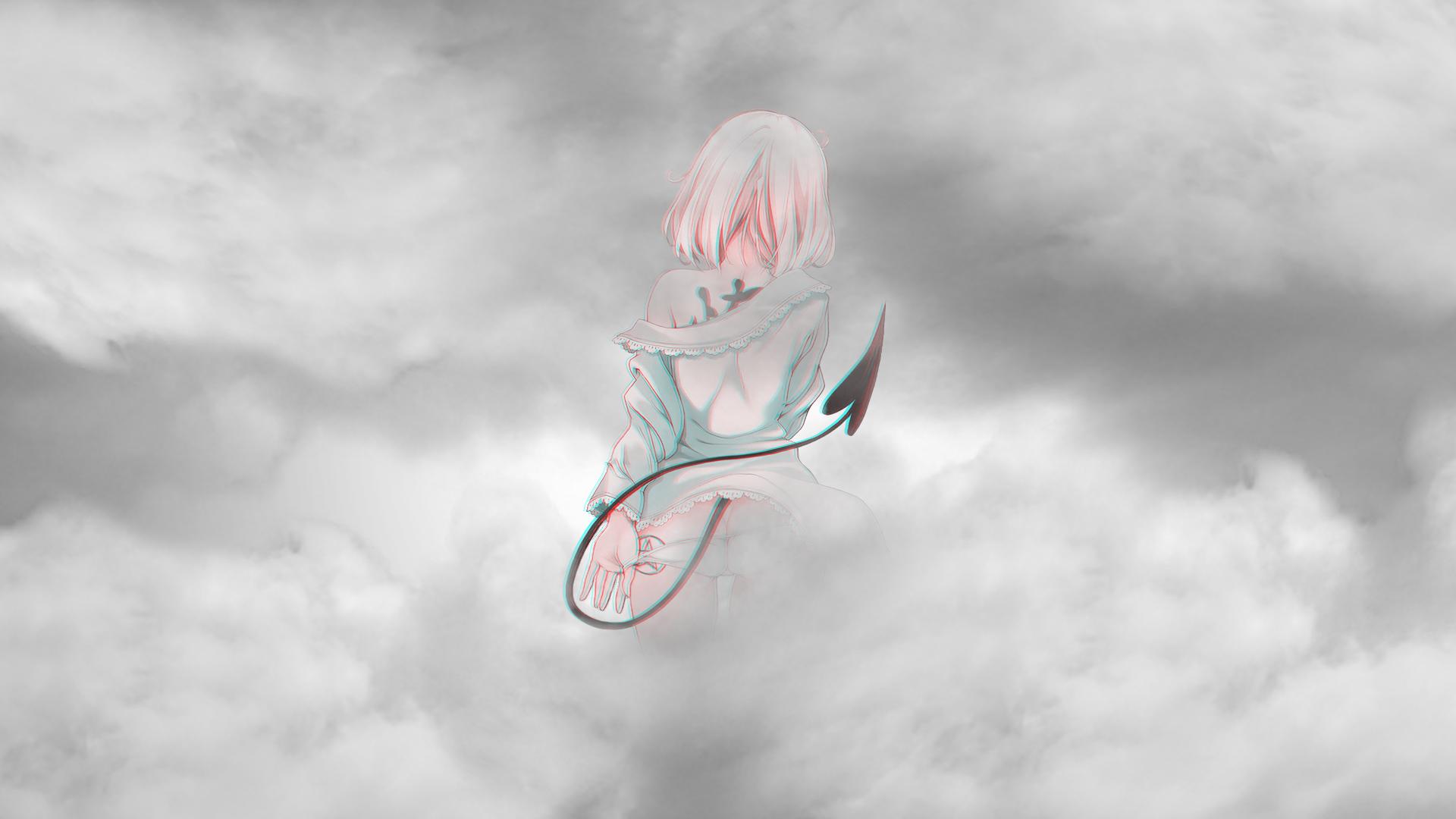 Anime 1920x1080 anime anime girls pink hair To love ru To Love-ru Darkness Momo Momo Velia Deviluke clouds ecchi
