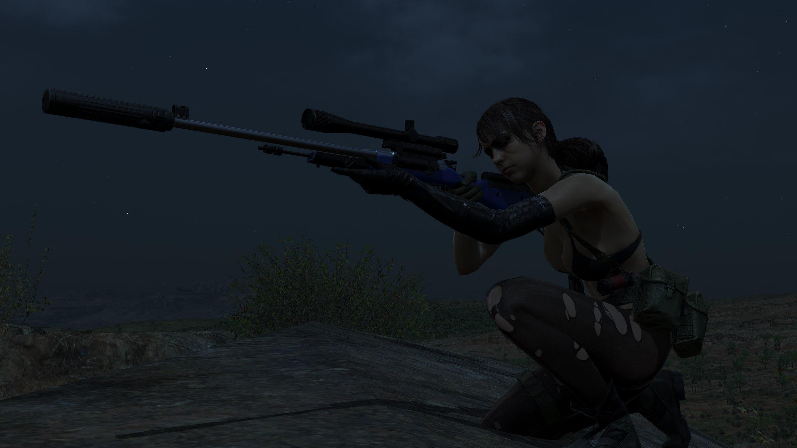 Пытки Quiet! [Metal Gear Solid V: The Phantom Pain] - YouTube