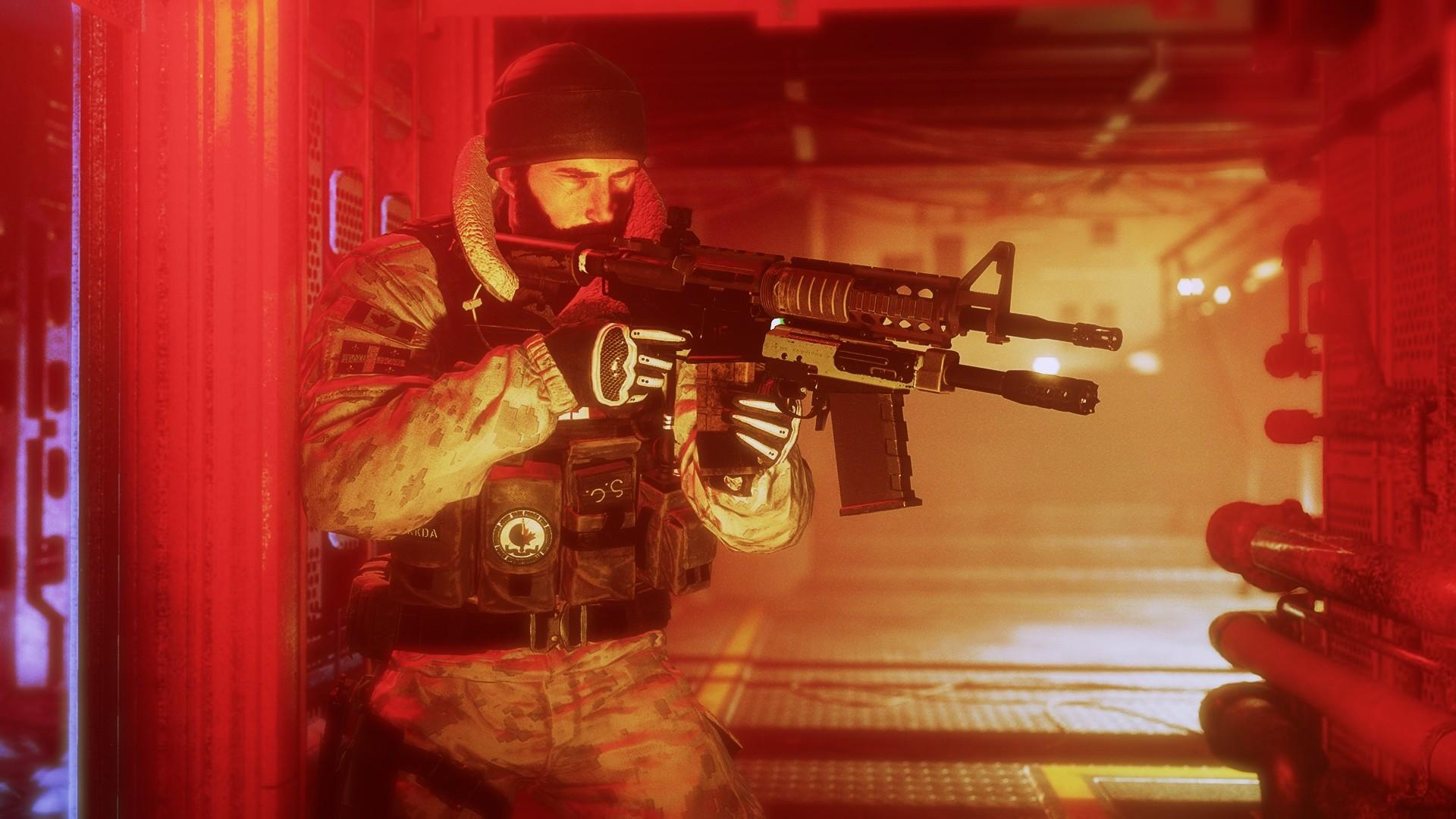 General 1920x1080 Rainbow Six: Siege Buck video games weapon soldier